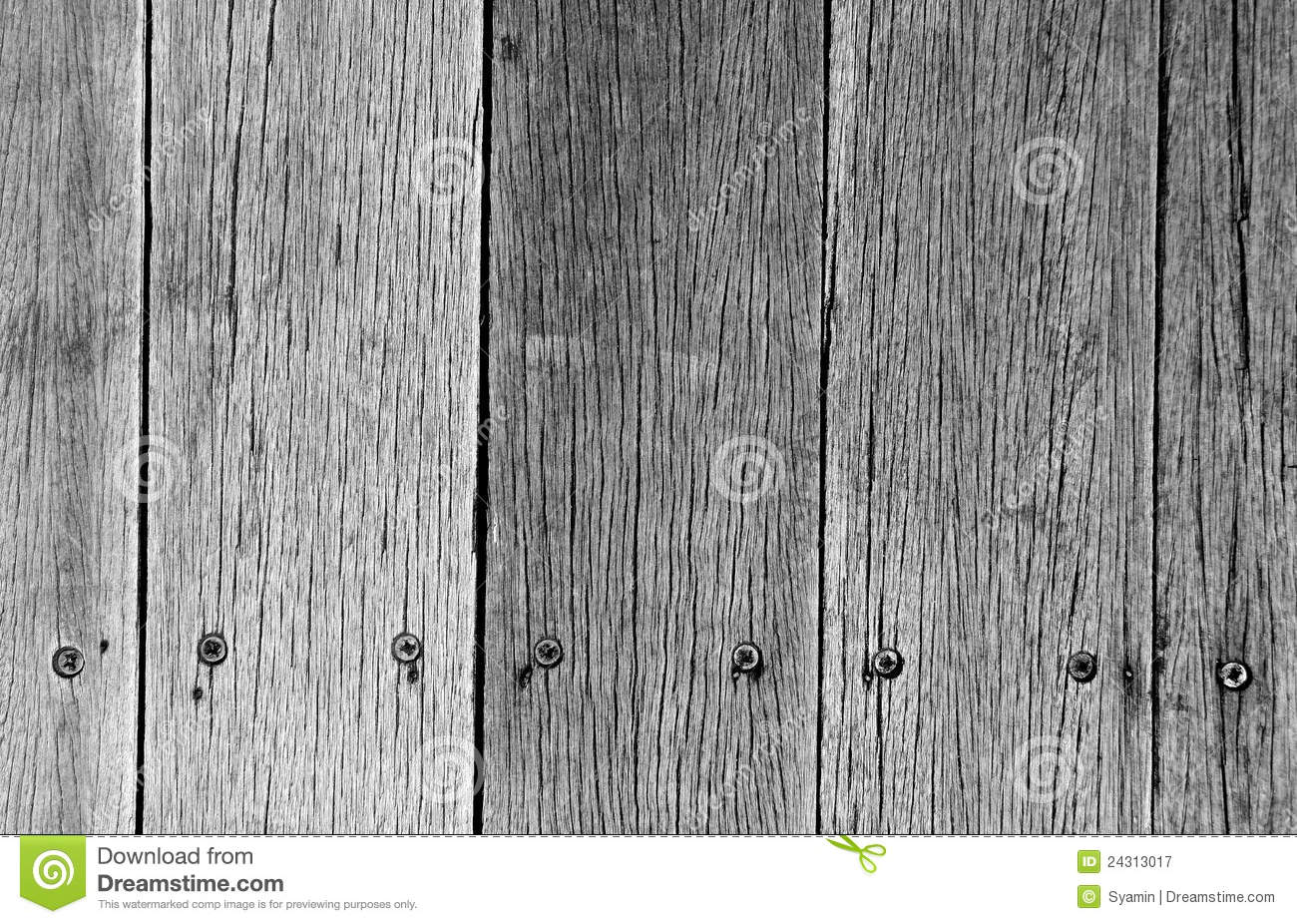 Old Weathered Wood Plank Royalty Free Stock Photography