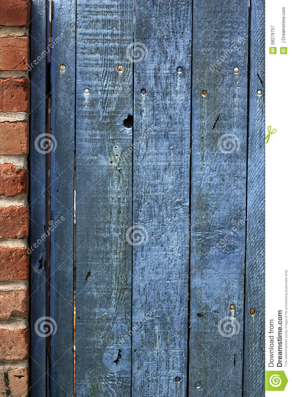 Old weathered wooden fence stained blue stock photo image 58279757 blue painted peeling stained weathered wooden baanklon Images