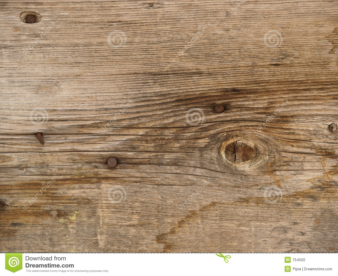 Worn Down Wooden Planks ~ Old weathered and worn wooden planks stock photo image