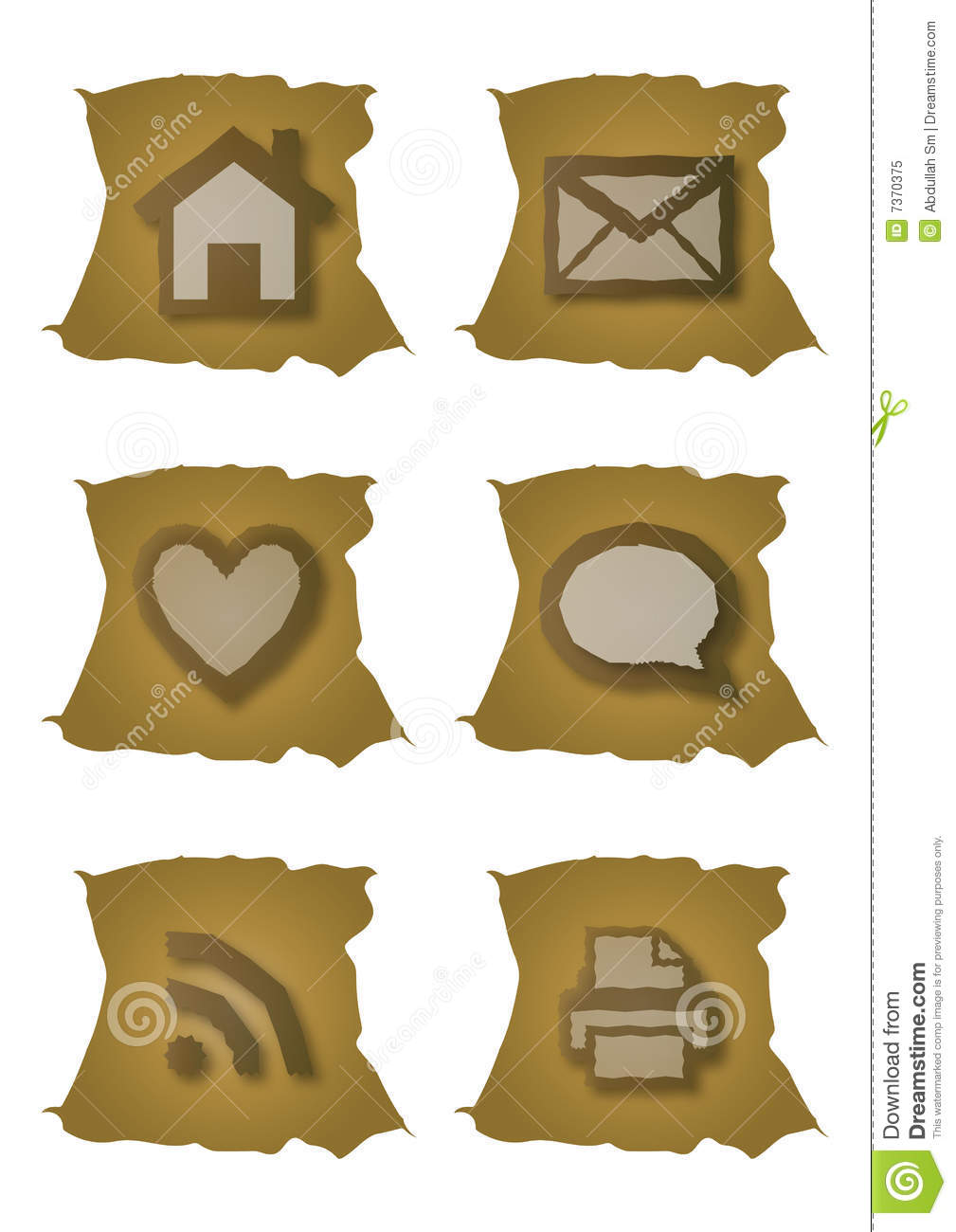 Old web icons