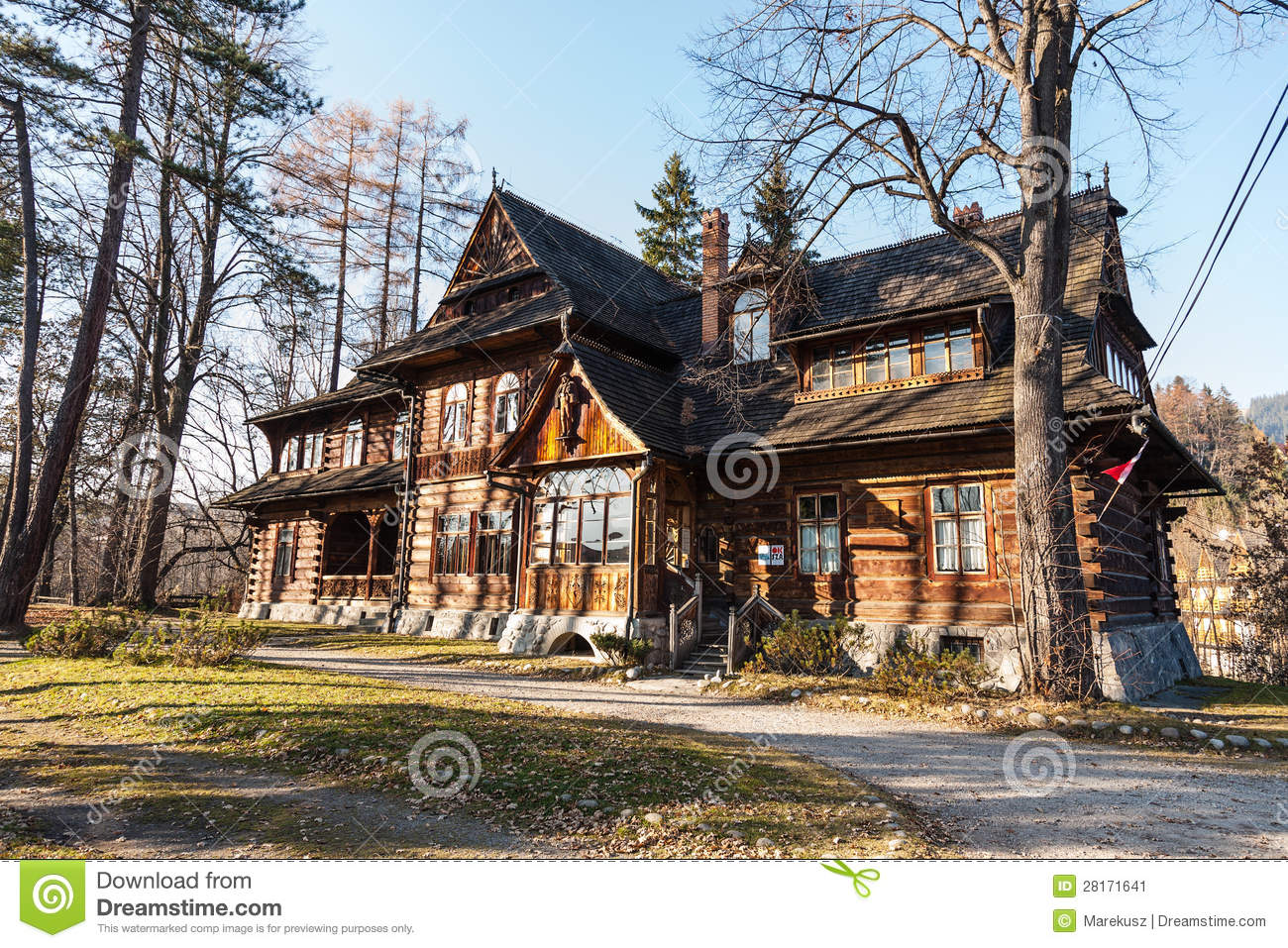 Old and well-known house in Zakopane