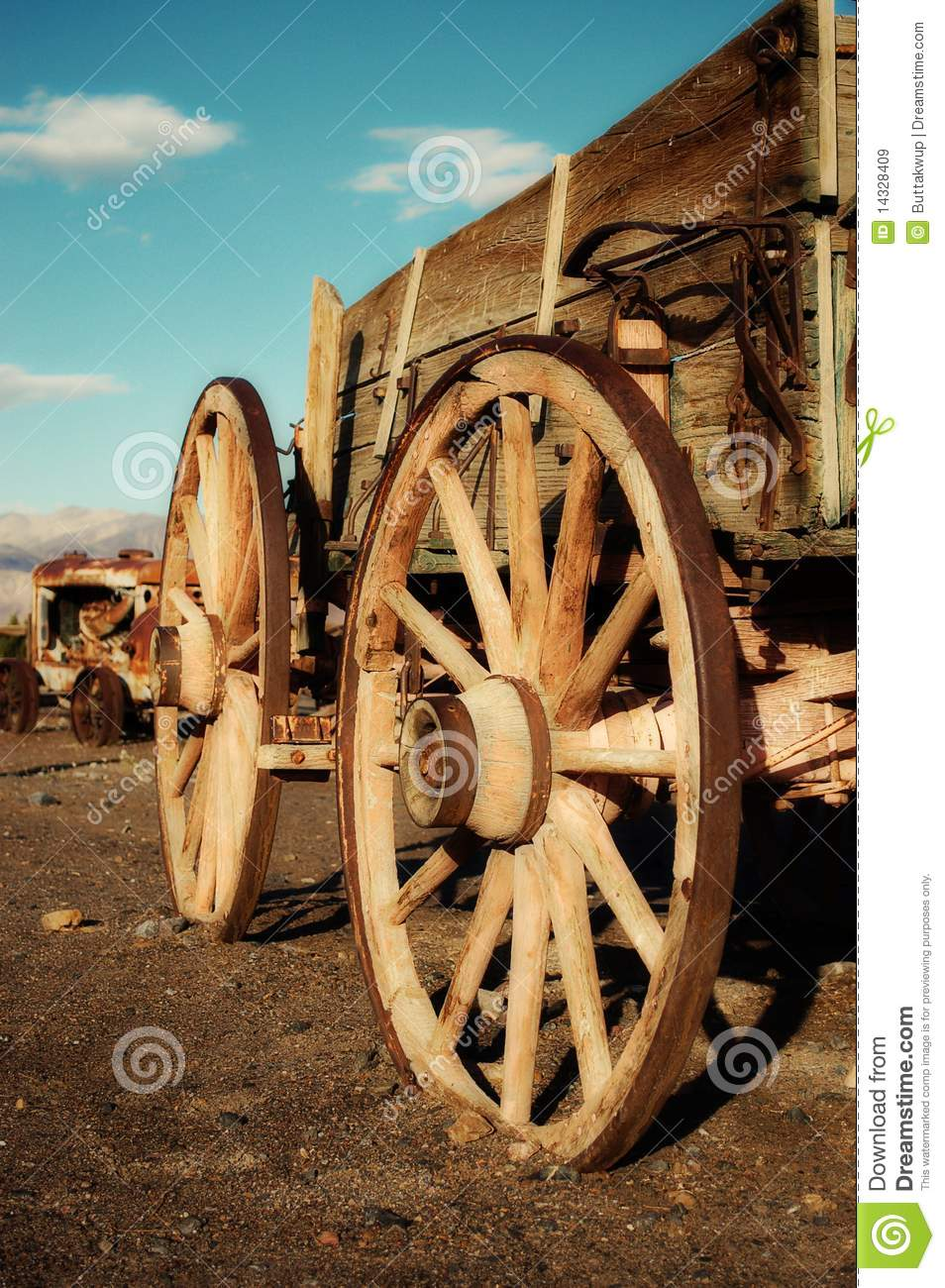 Old West Mining Cart