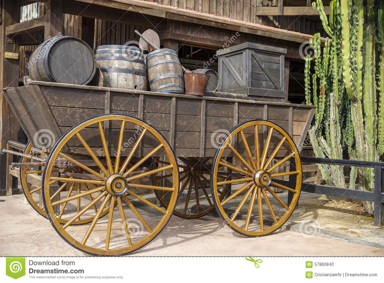 Old west, Old trail town, Cody, Wyoming