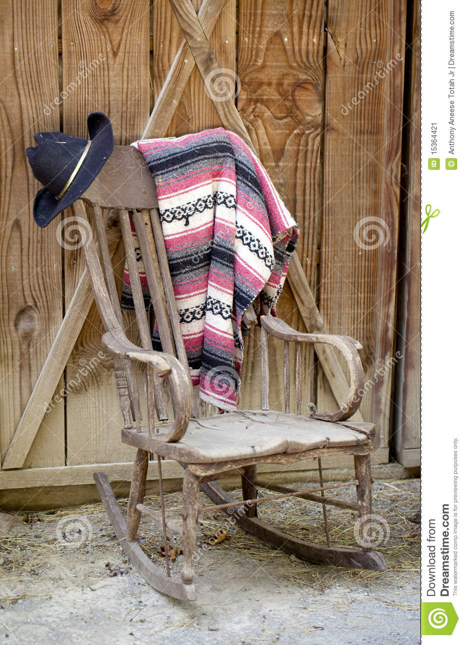 Old Western Still Life Stock Image Image Of Blanket