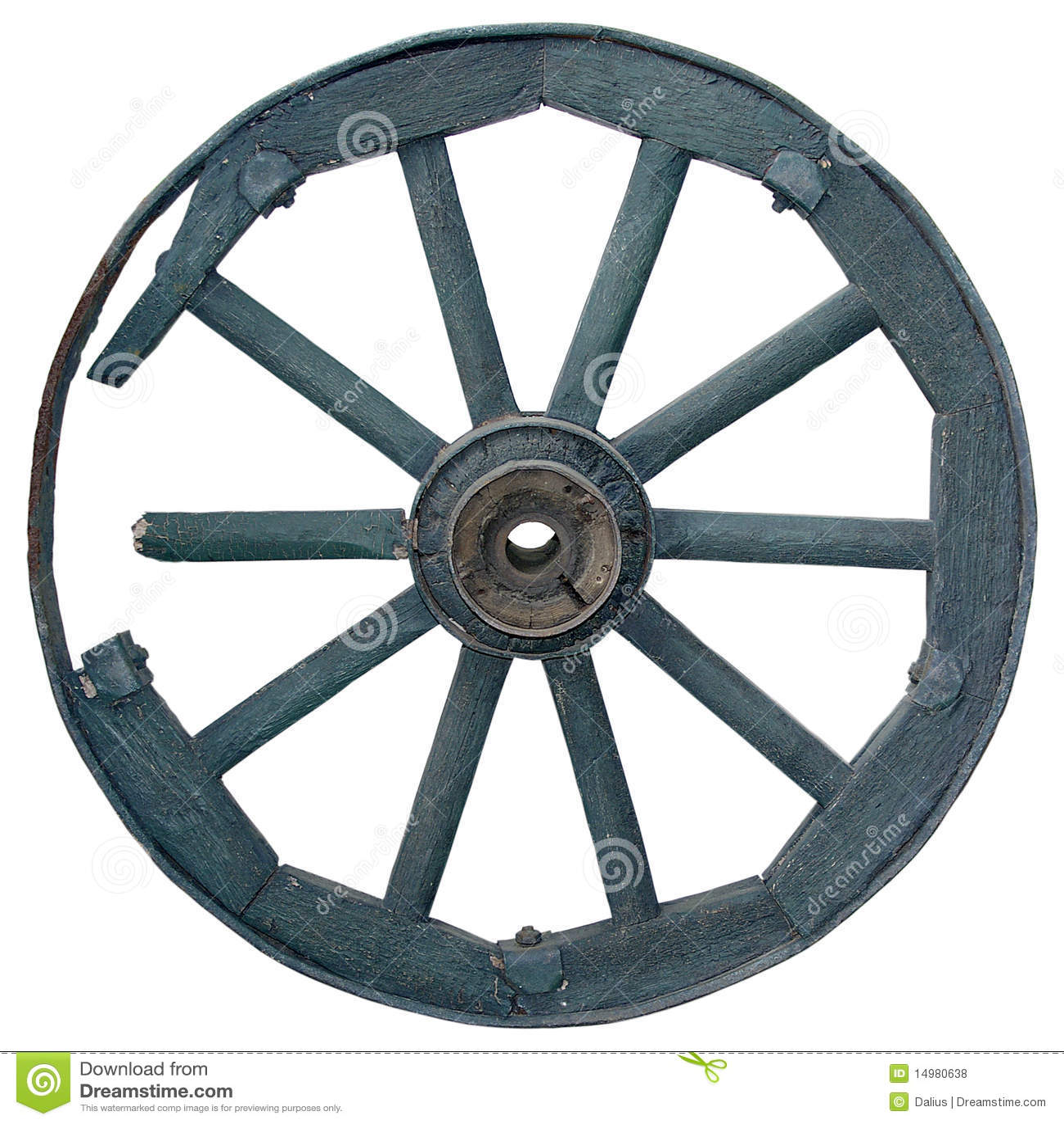Old Wheel Stock Photo Image Of Transport Spoke Wagon