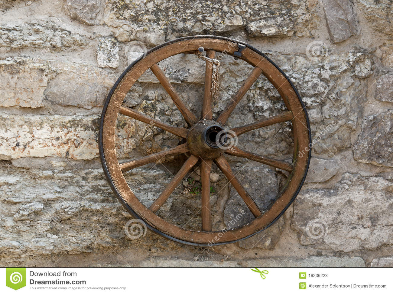 Old wheel stock image. Image of rust, retro, circle ...