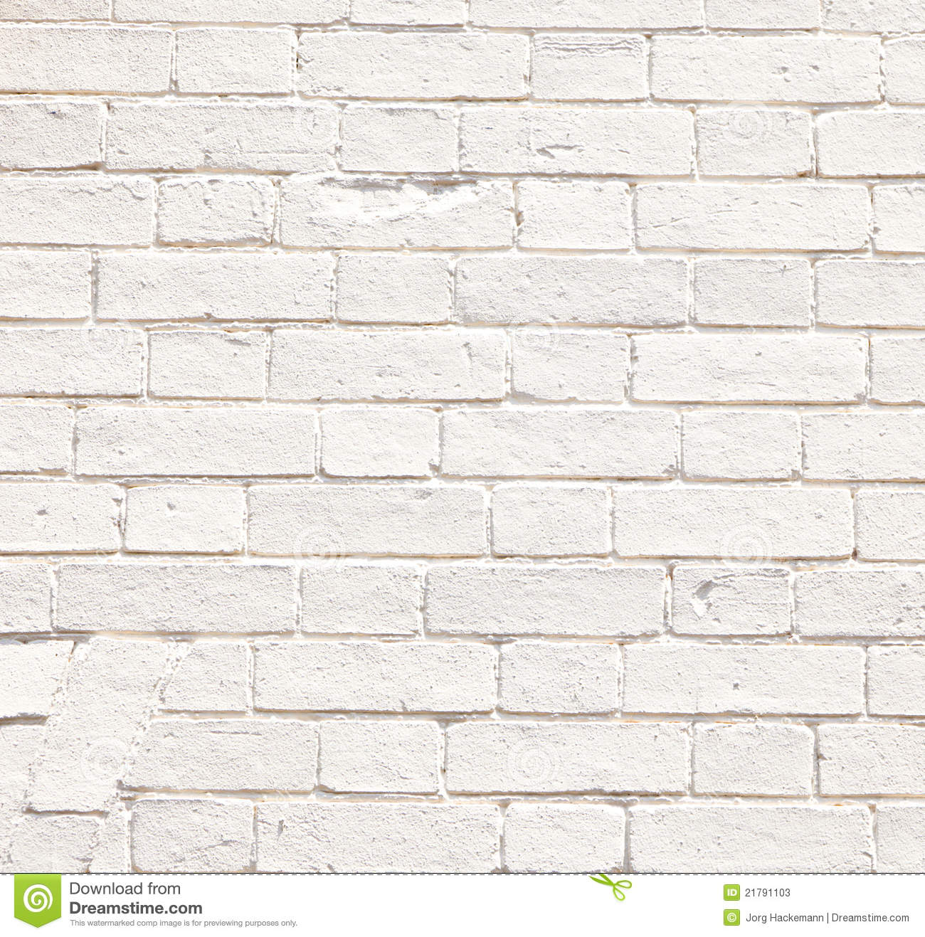 Old White Brick Walls Of Historic Houses Stock Photos