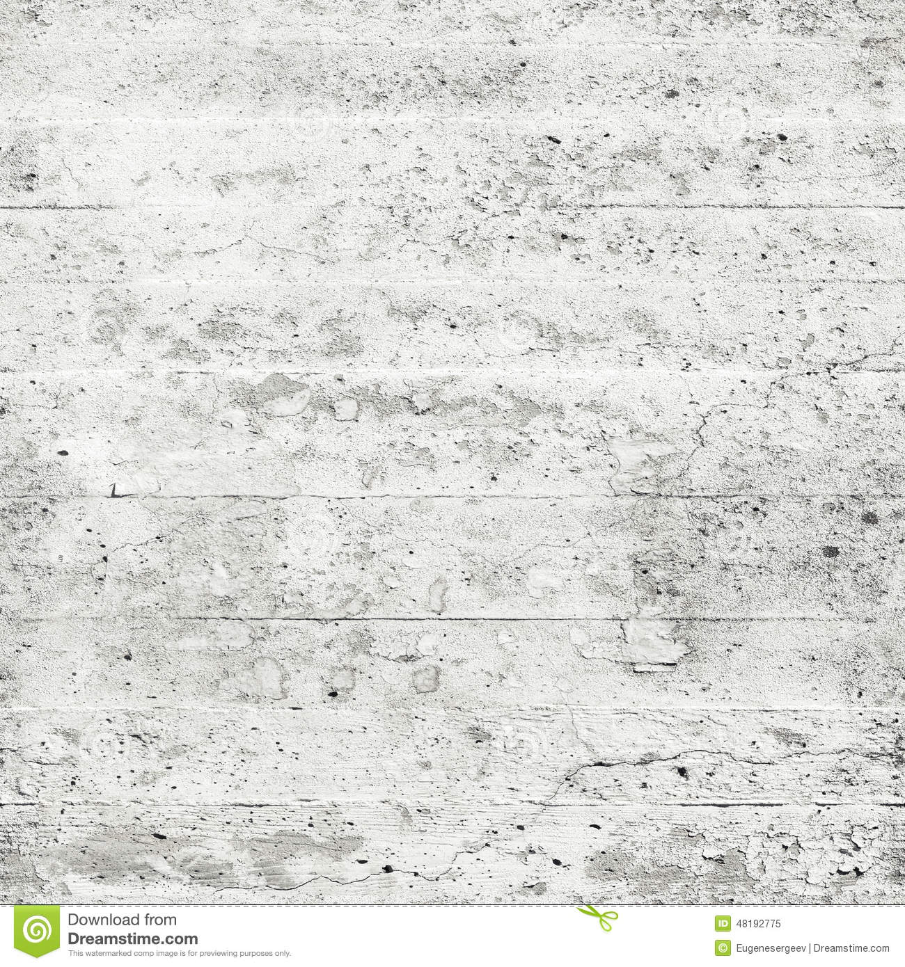 White Concrete Wall : Old white concrete wall seamless background texture stock