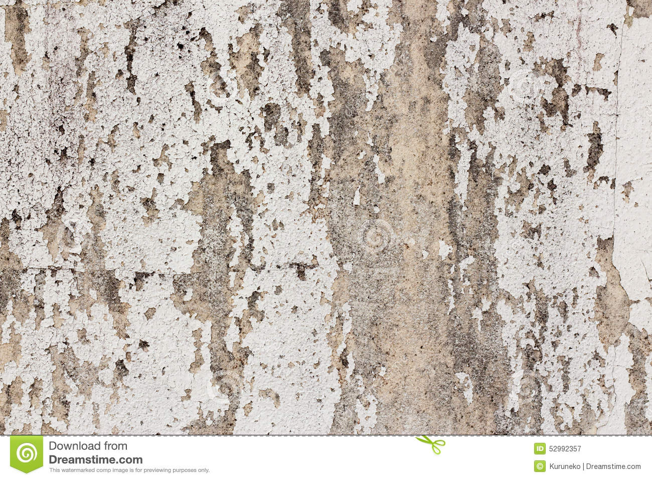 Old white painted concrete wall background stock image for Getting stains off concrete