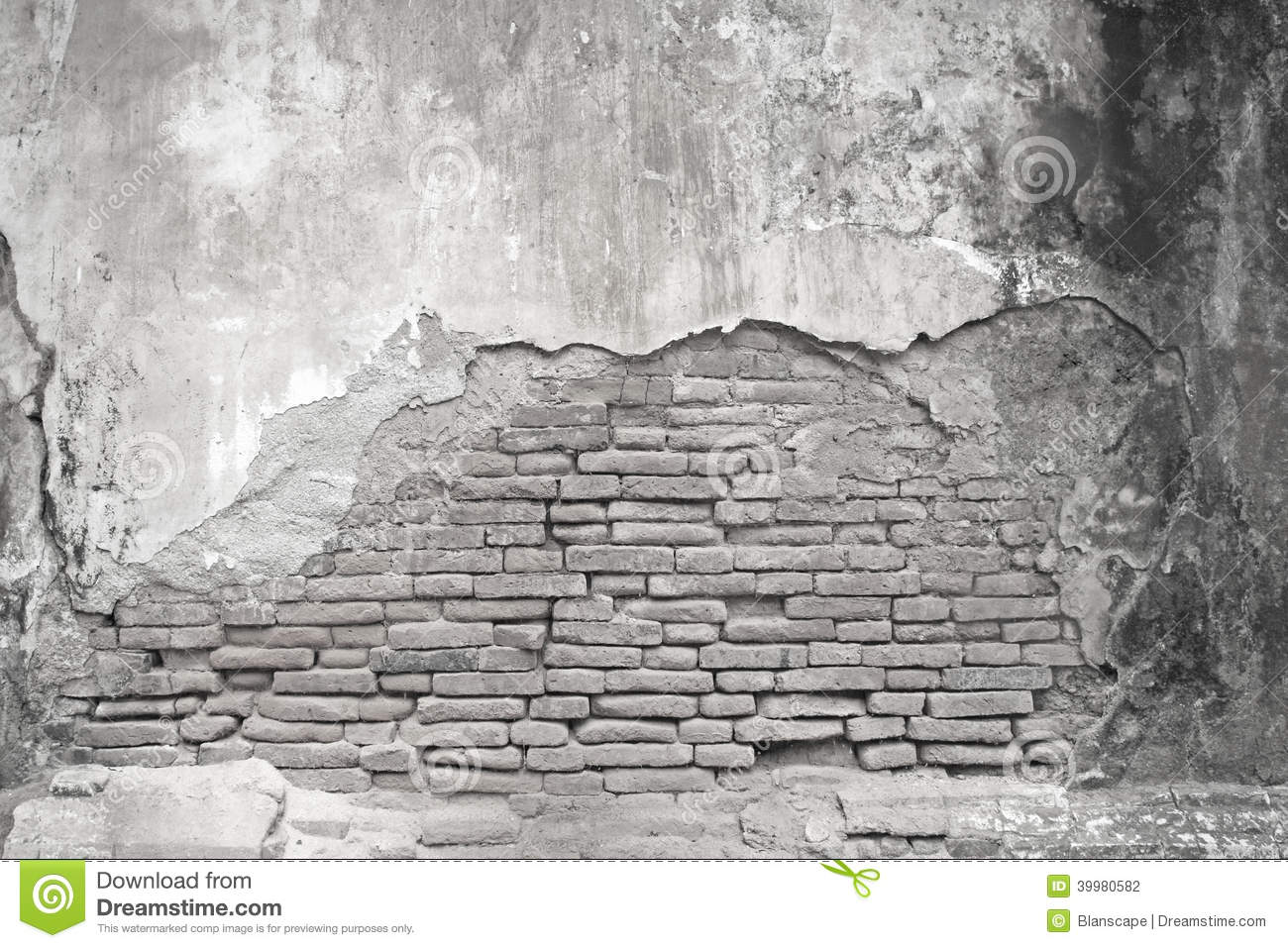 Old white wall and concrete texture stock illustration for Old concrete wall texture
