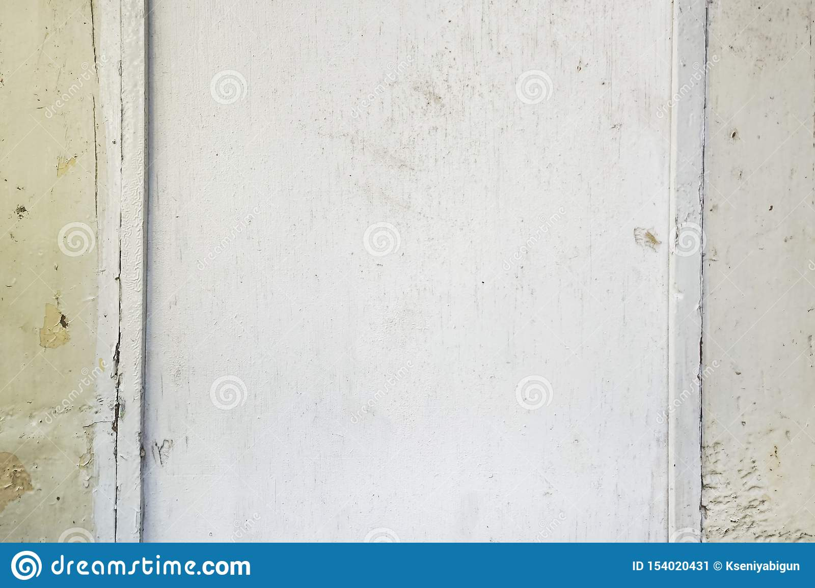Old white wood texture with natural patterns background