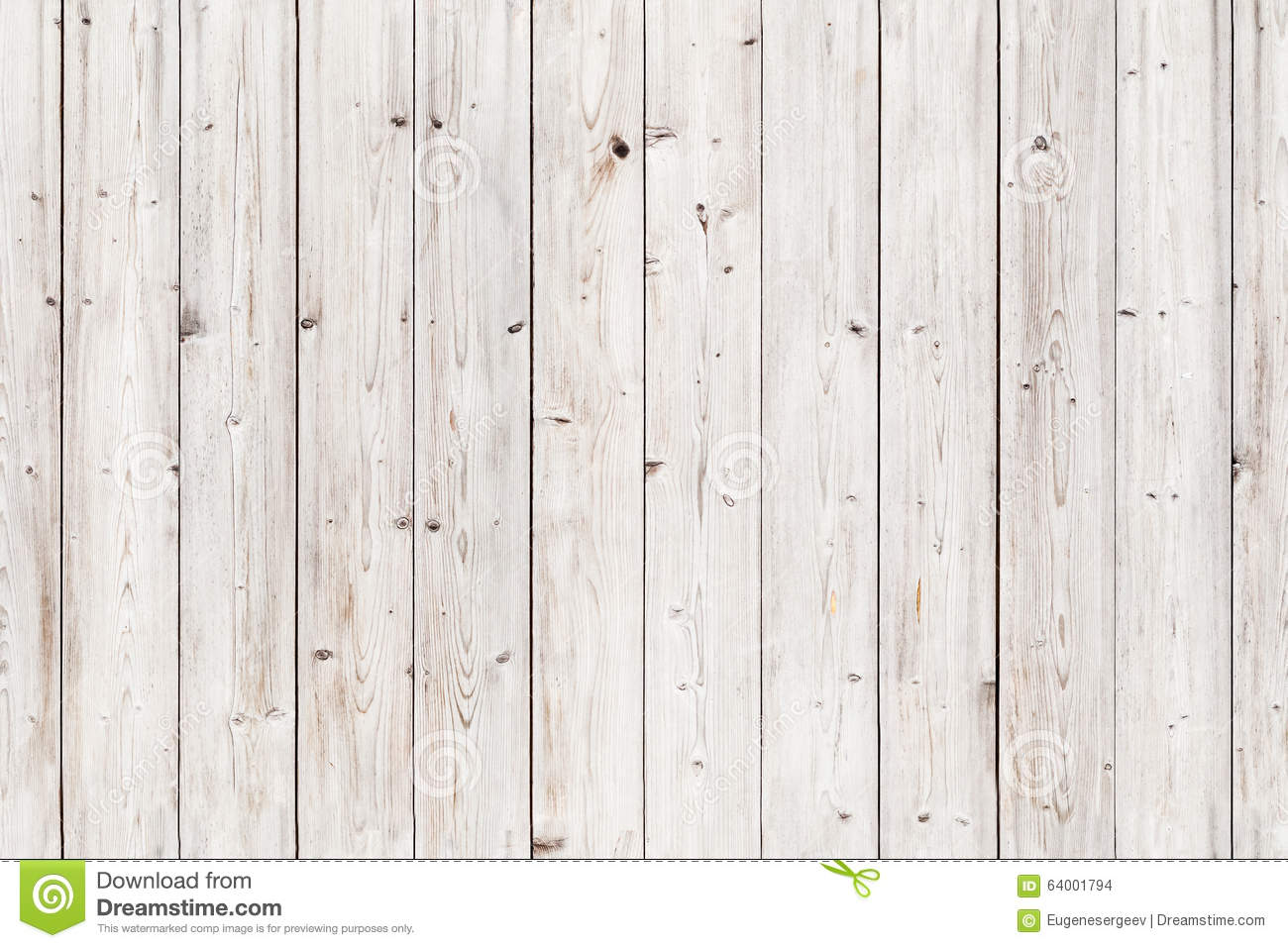 Old white wooden wall. Seamless background texture