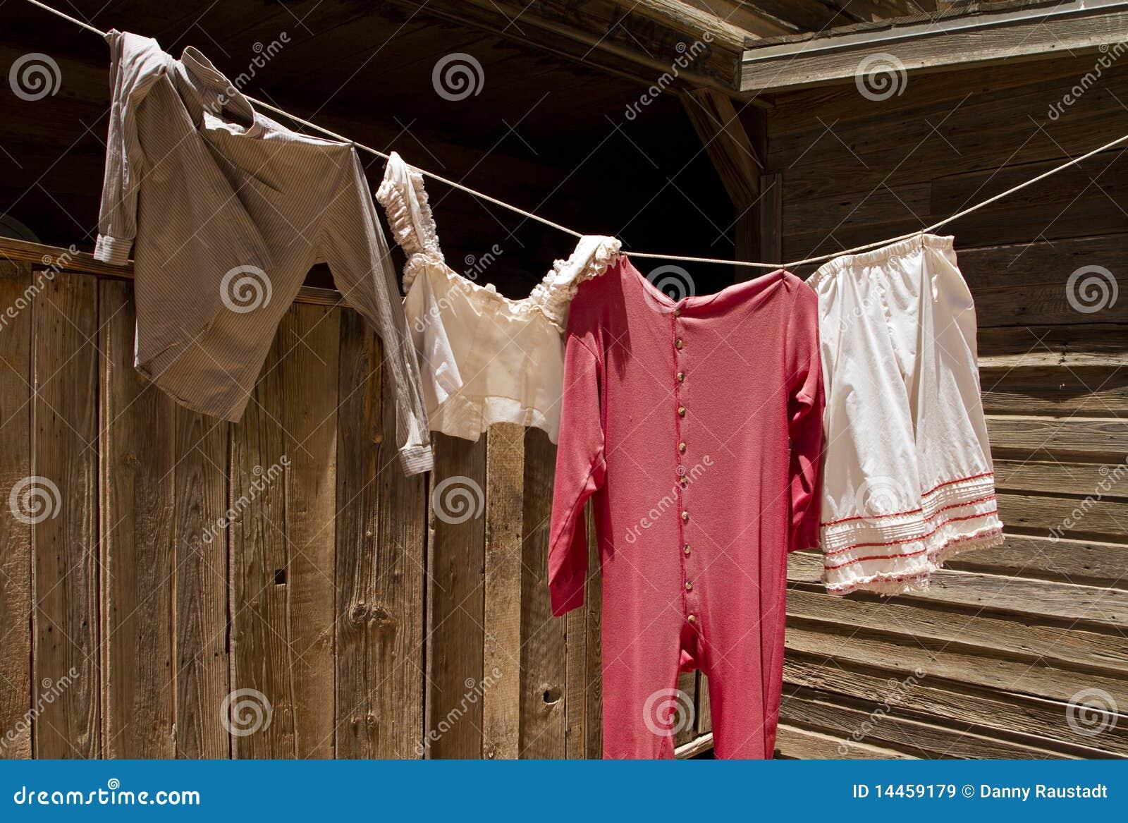 Vintage Clothes Line