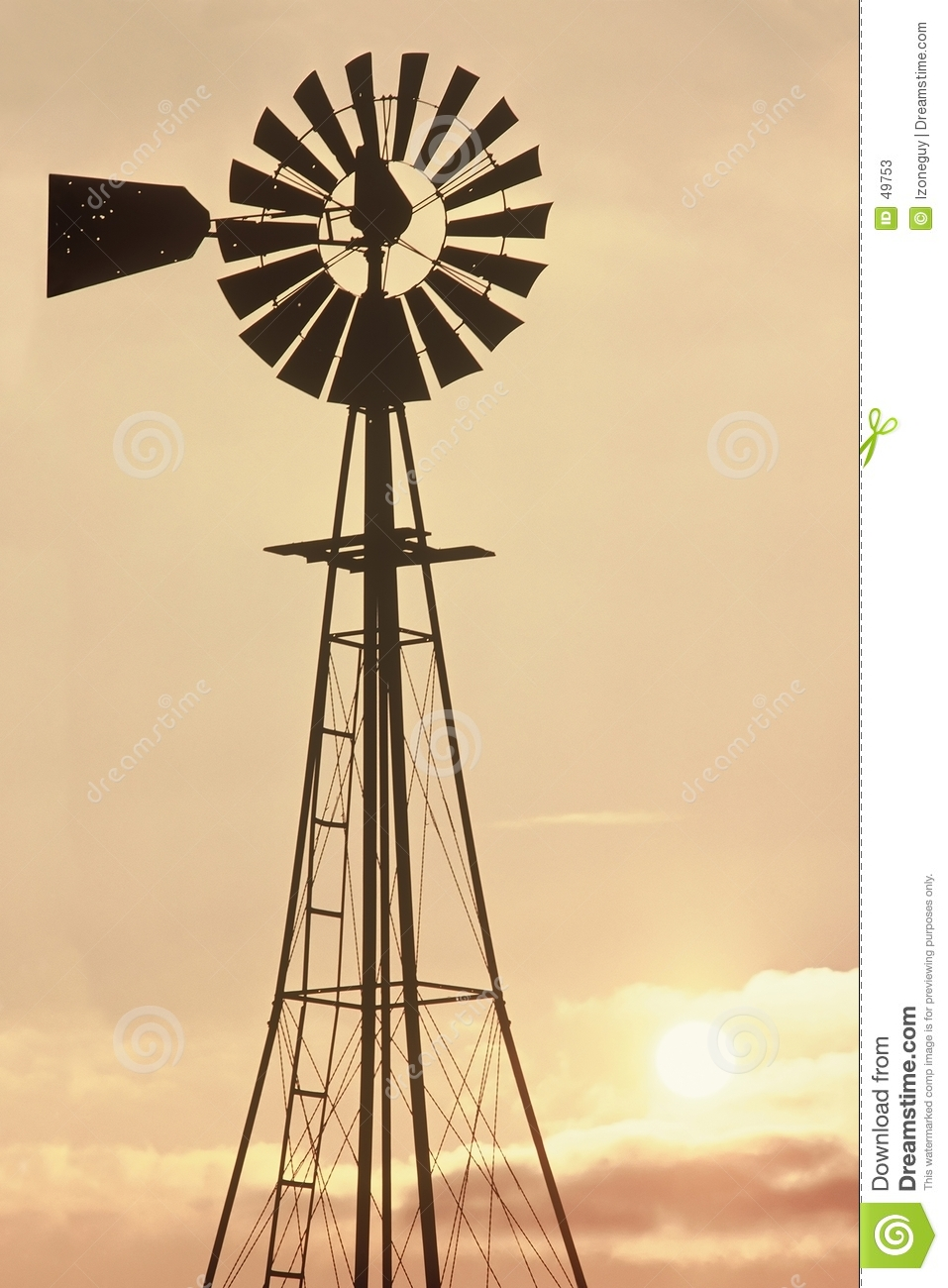 Old Windmill Stock Photos - Image: 49753