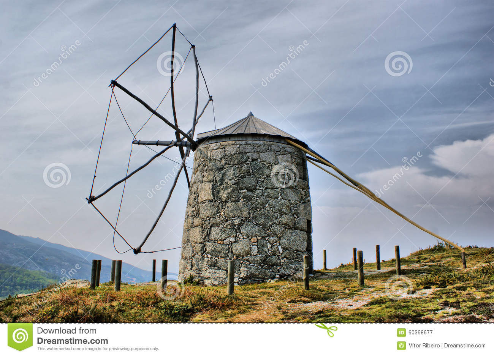Old windmill of Aboim