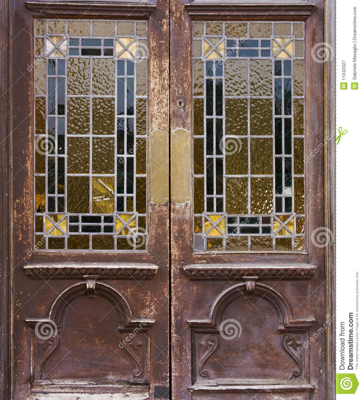 Old window door & Old window door stock image. Image of down boarded ruined - 11043327