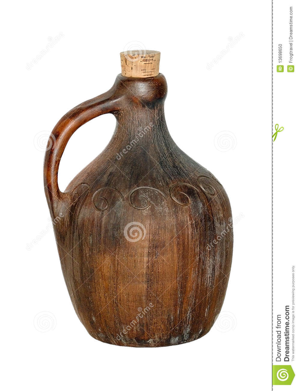 Old Wine Jug Stock Photo Image Of Antiquity Empty