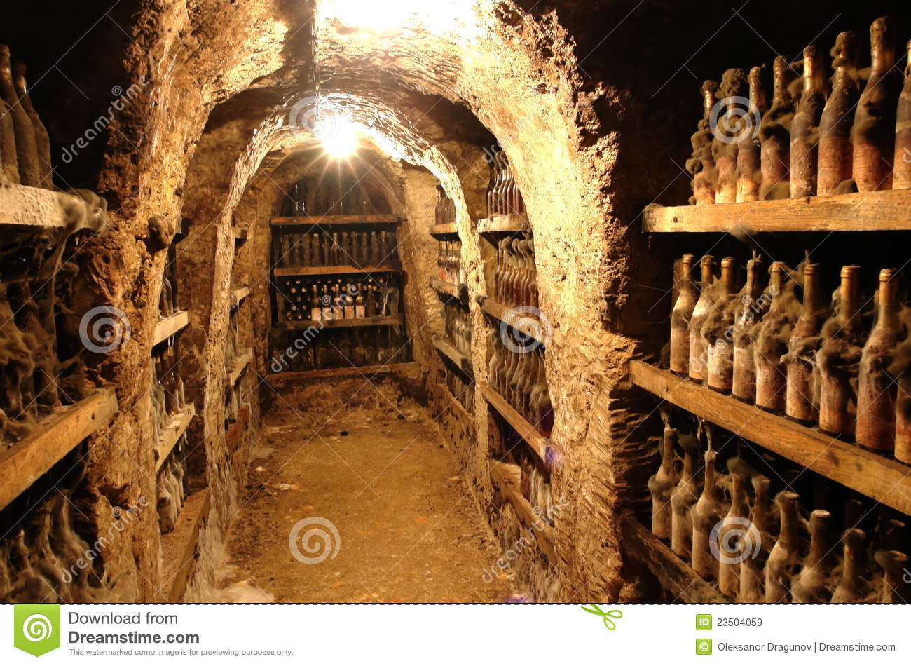 Old Wine From Tokai Valley Stock Image Image Of