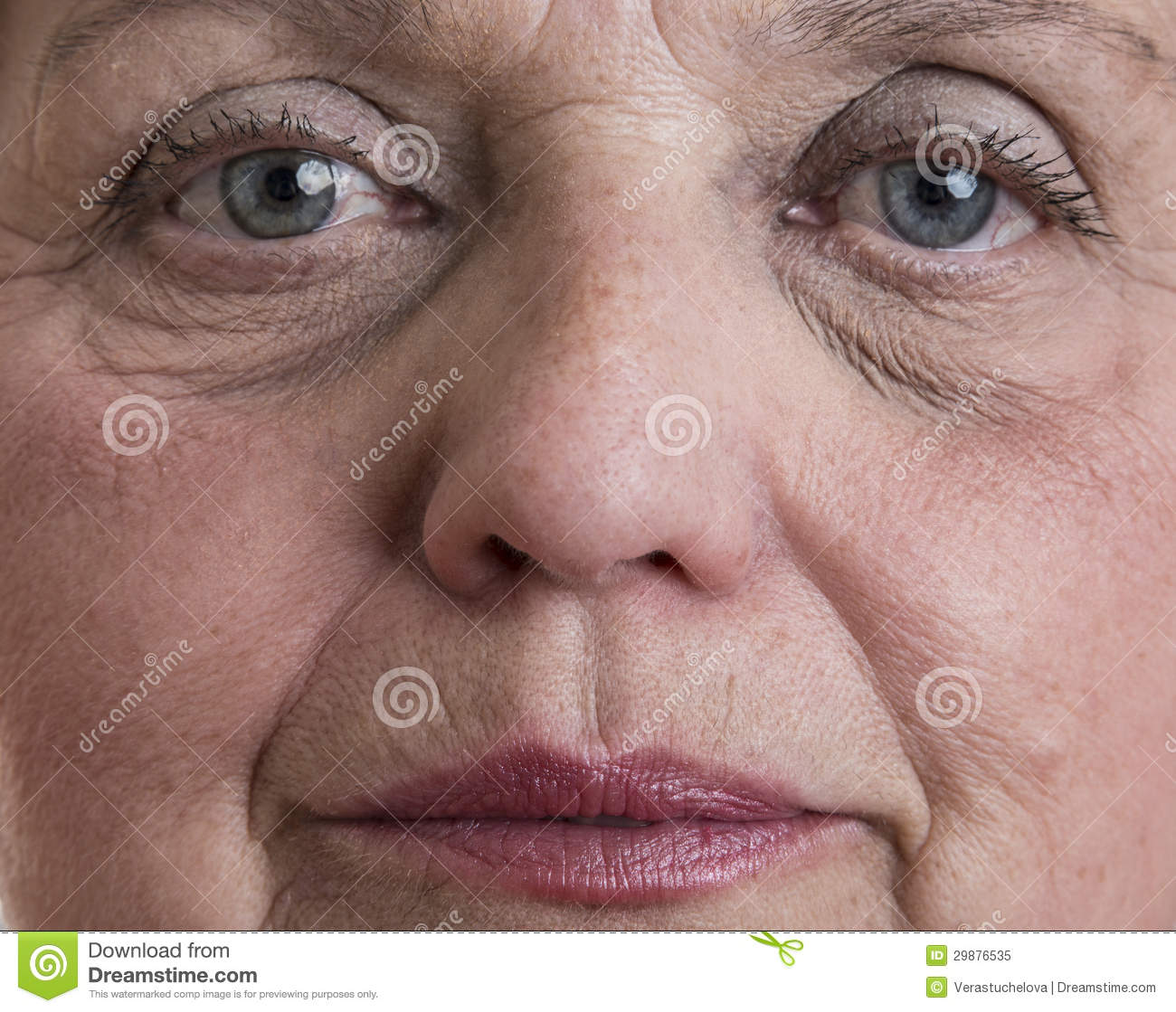 Old Woman Face Royalty Free Stock Photo