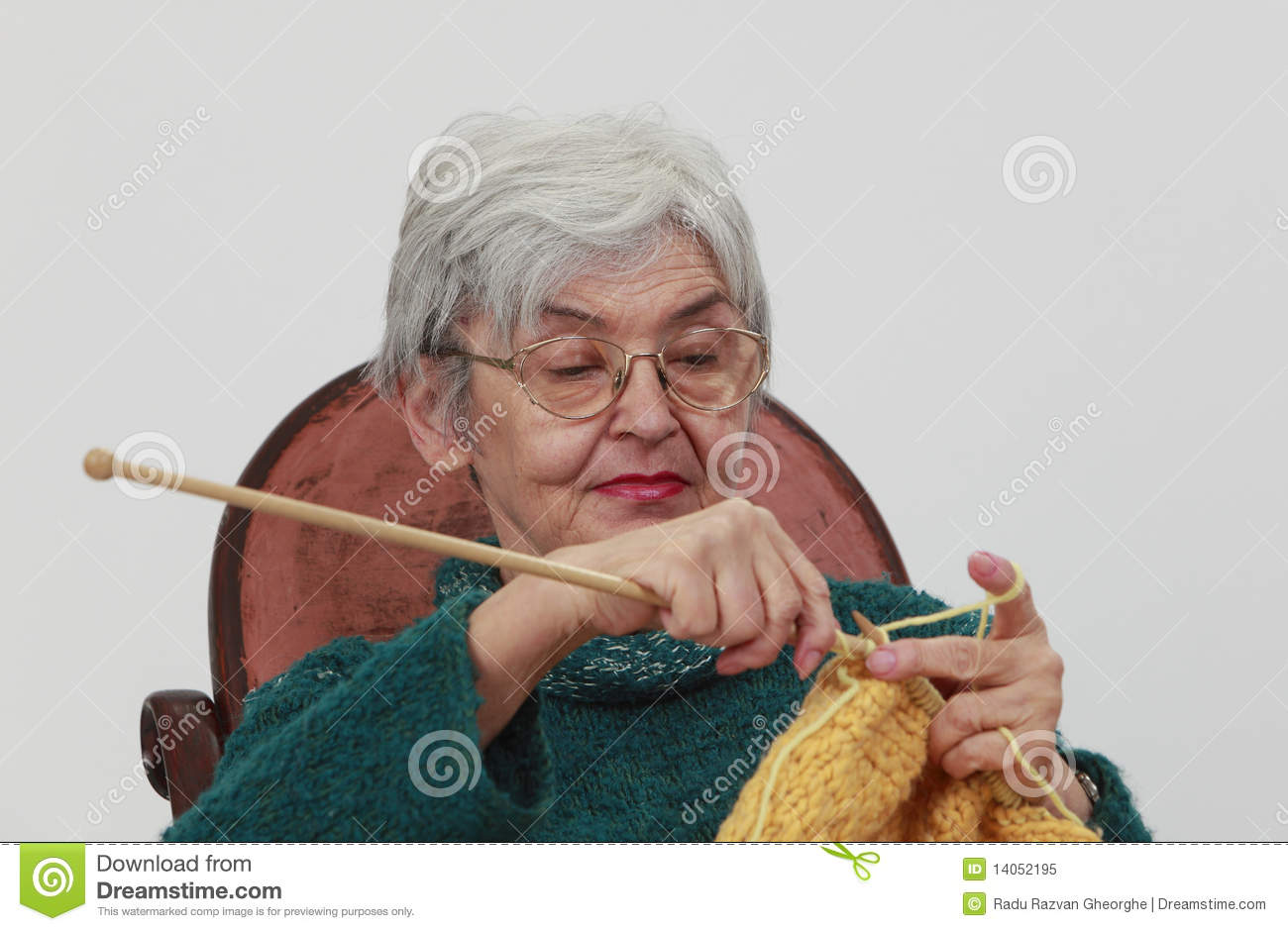 Old Lady Knitting Images : Old woman knitting royalty free stock photo image