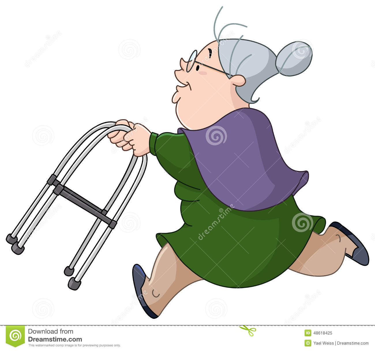 old woman running with walker stock vector image 48618425 happy retirement clipart wine happy retirement clip art images