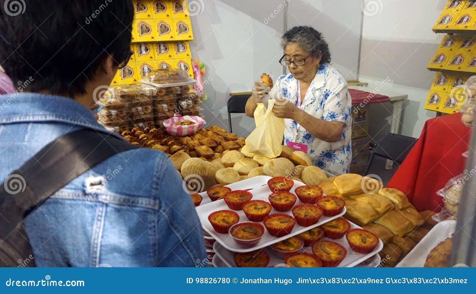 Senior woman sales bread