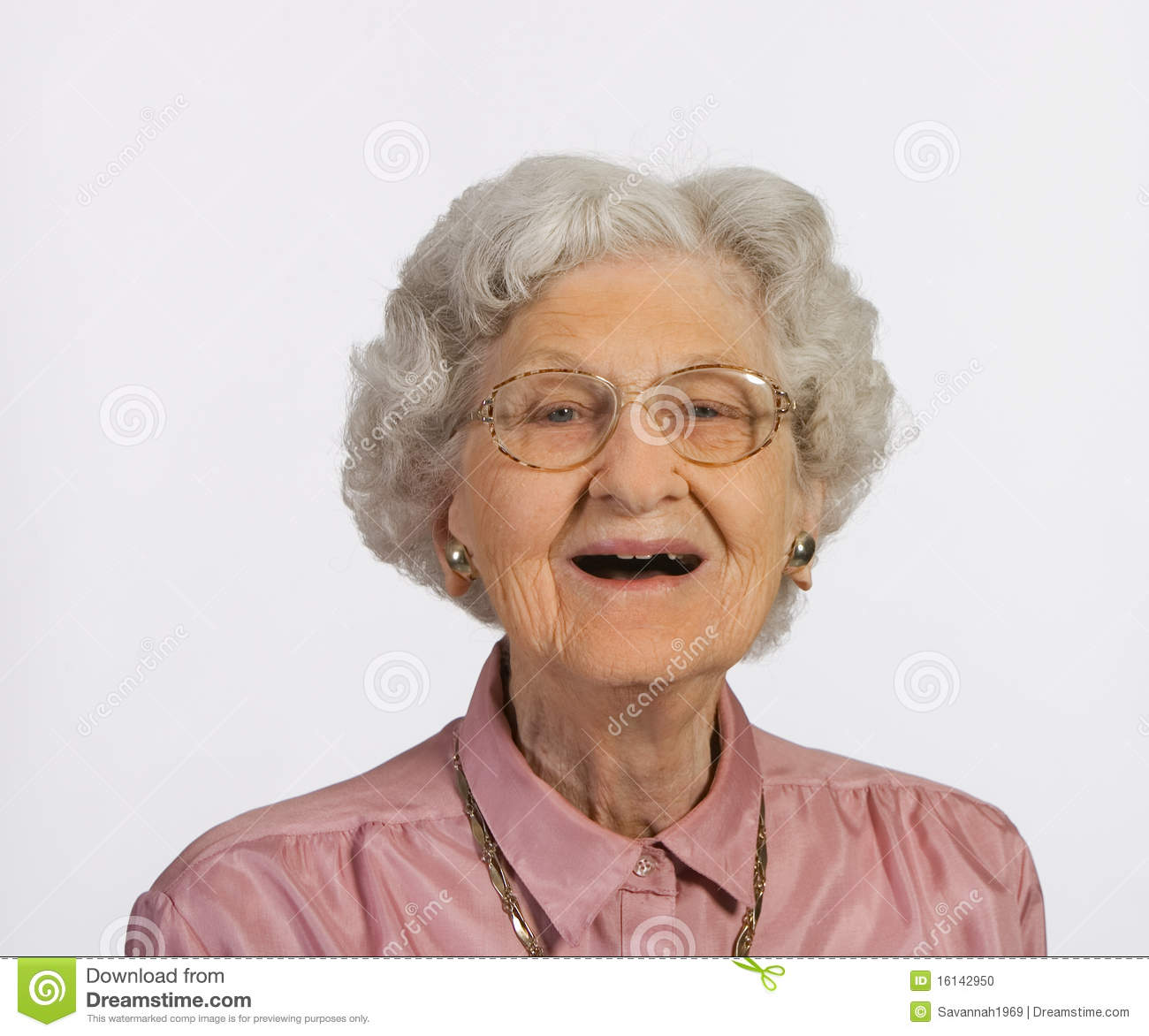 4c4fd50e9b Old woman with glasses and gray hair happy and smiling