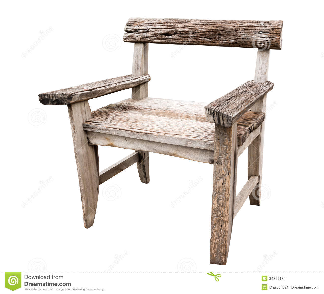 Old Wood Chair. Objects, Design.
