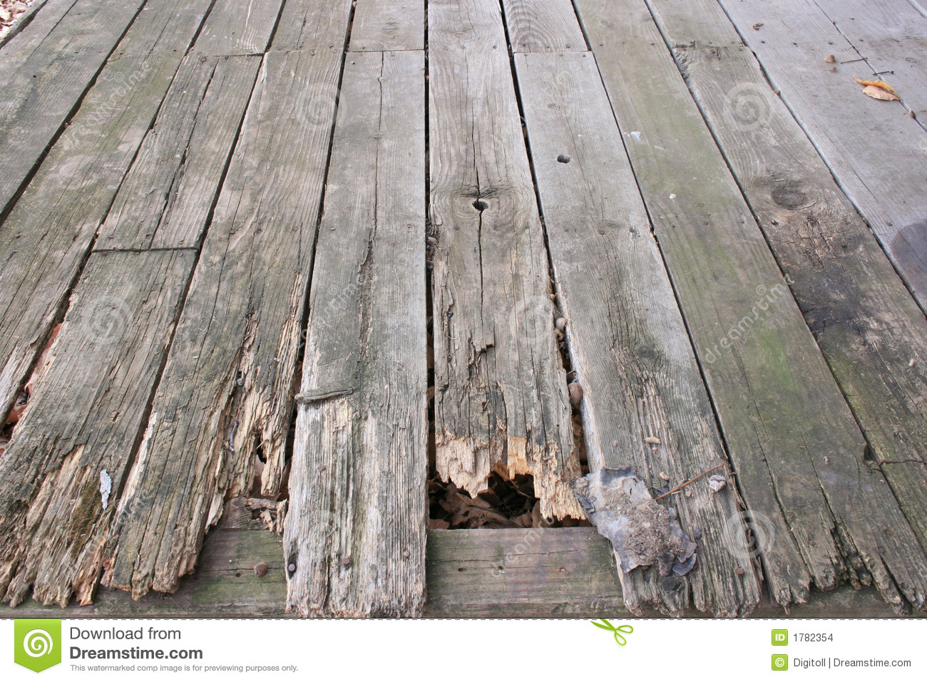 Old Wood Decking Background Stock Images - Image: 1782354