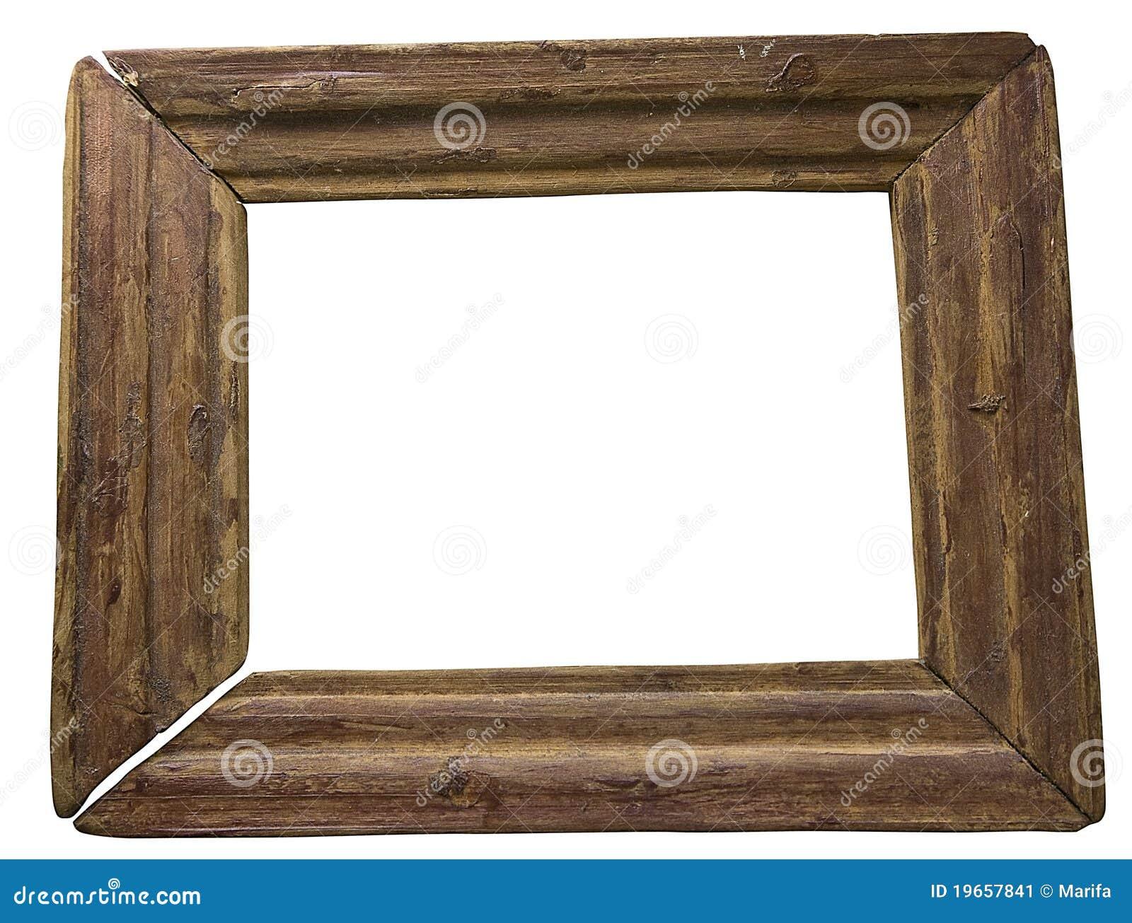 Old Wood Frame Stock Image Image Of Space Border Design