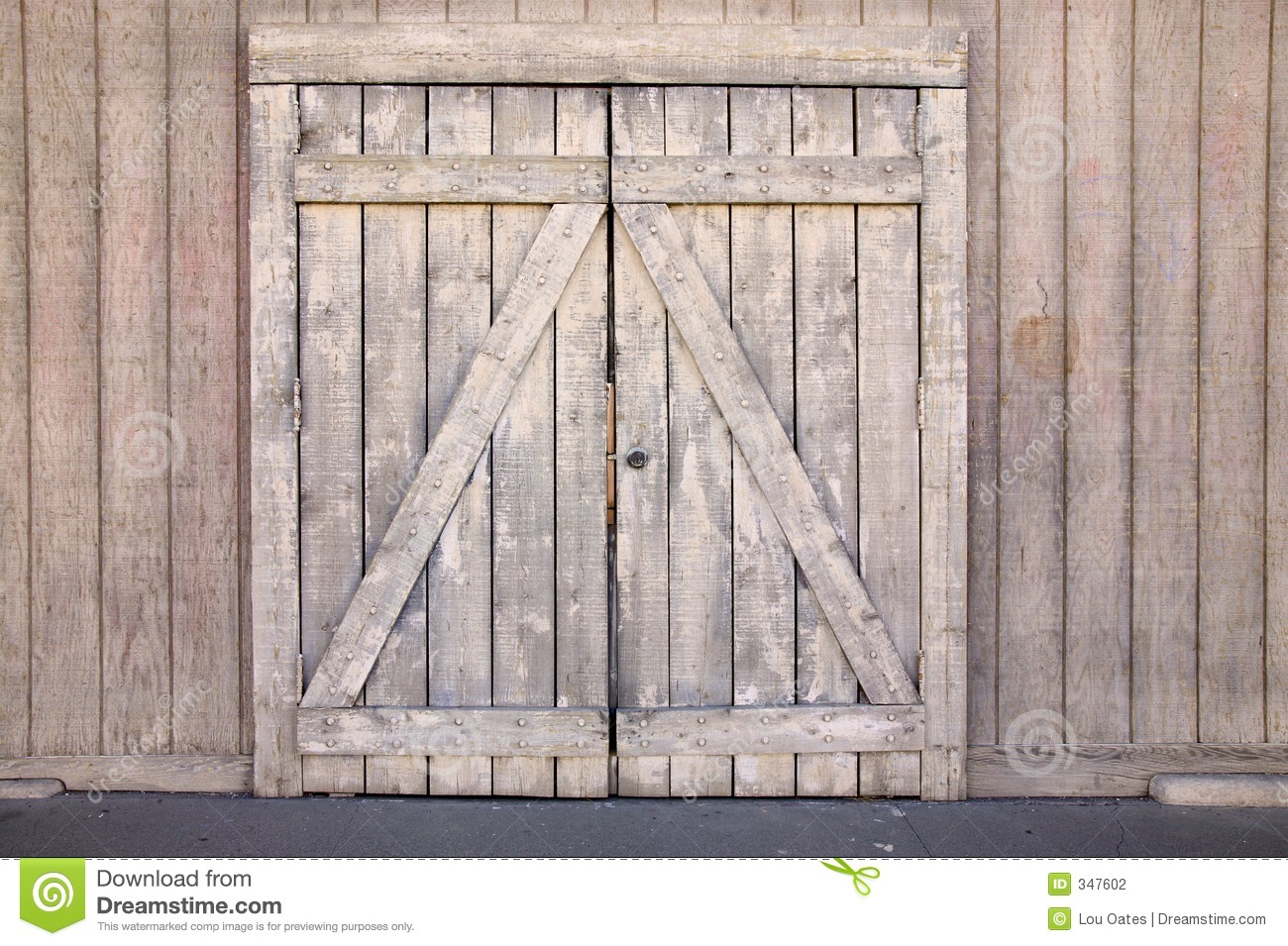 Old Wood Gate Stock Photo Image Of Vintage Barrier