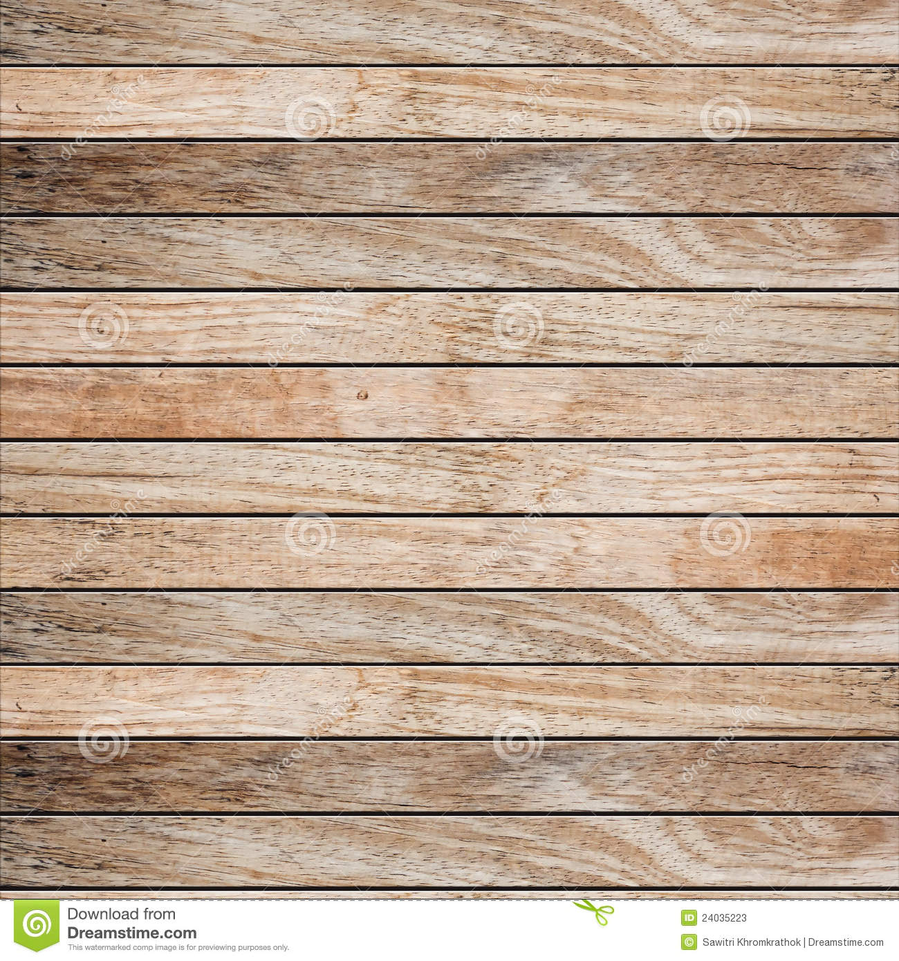 Old wood plank background stock image of border