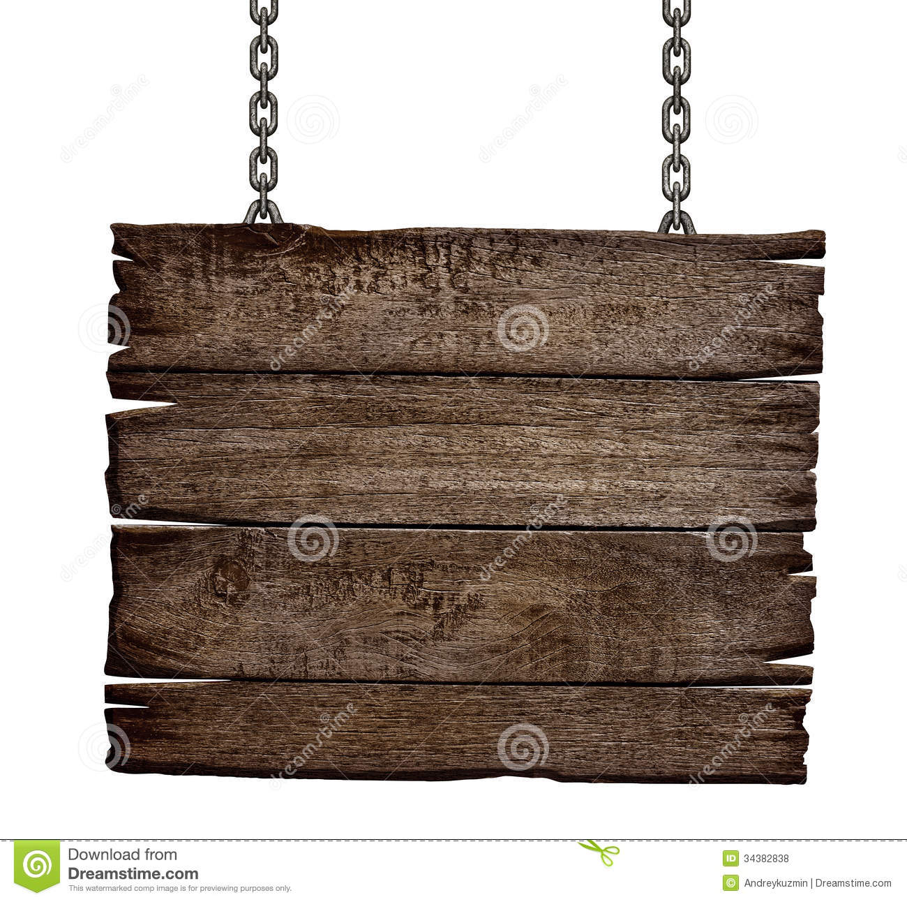 Old Wood Board ~ Old wood sign board on chain stock photo image of
