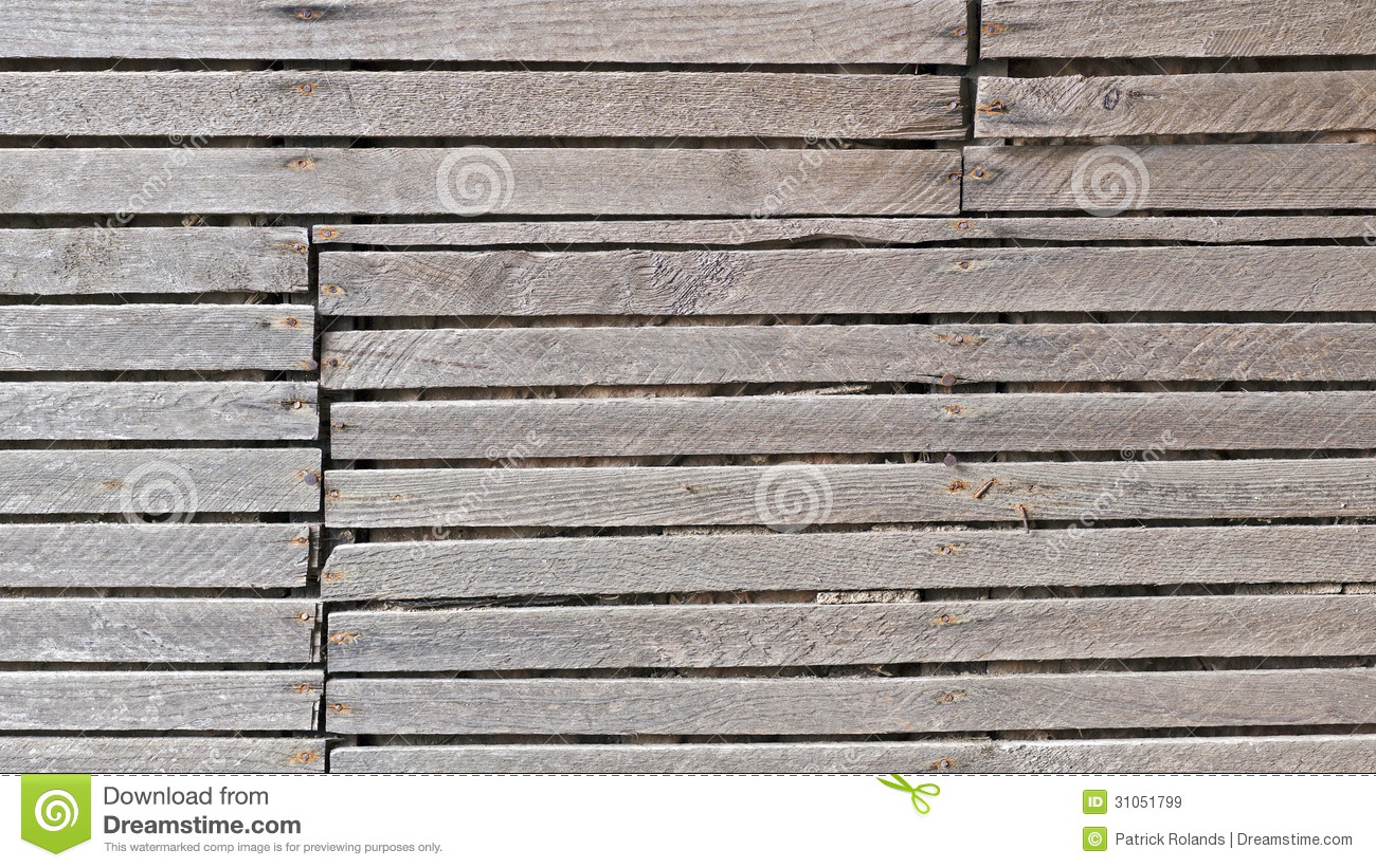 Old Wood Slat Wall Background Royalty Free Stock Images Image