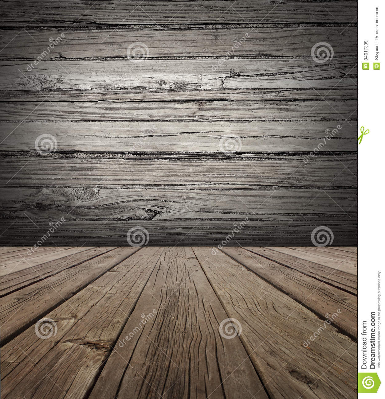 Old wood stage background royalty free stock images