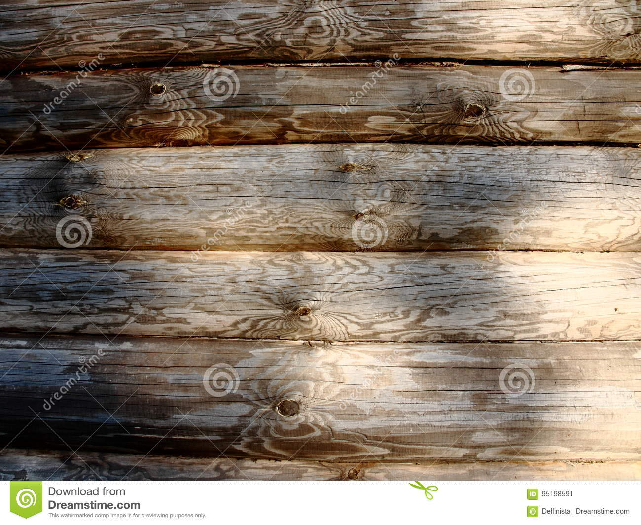 Old Wood texture plank background - wooden desk table wall or floor
