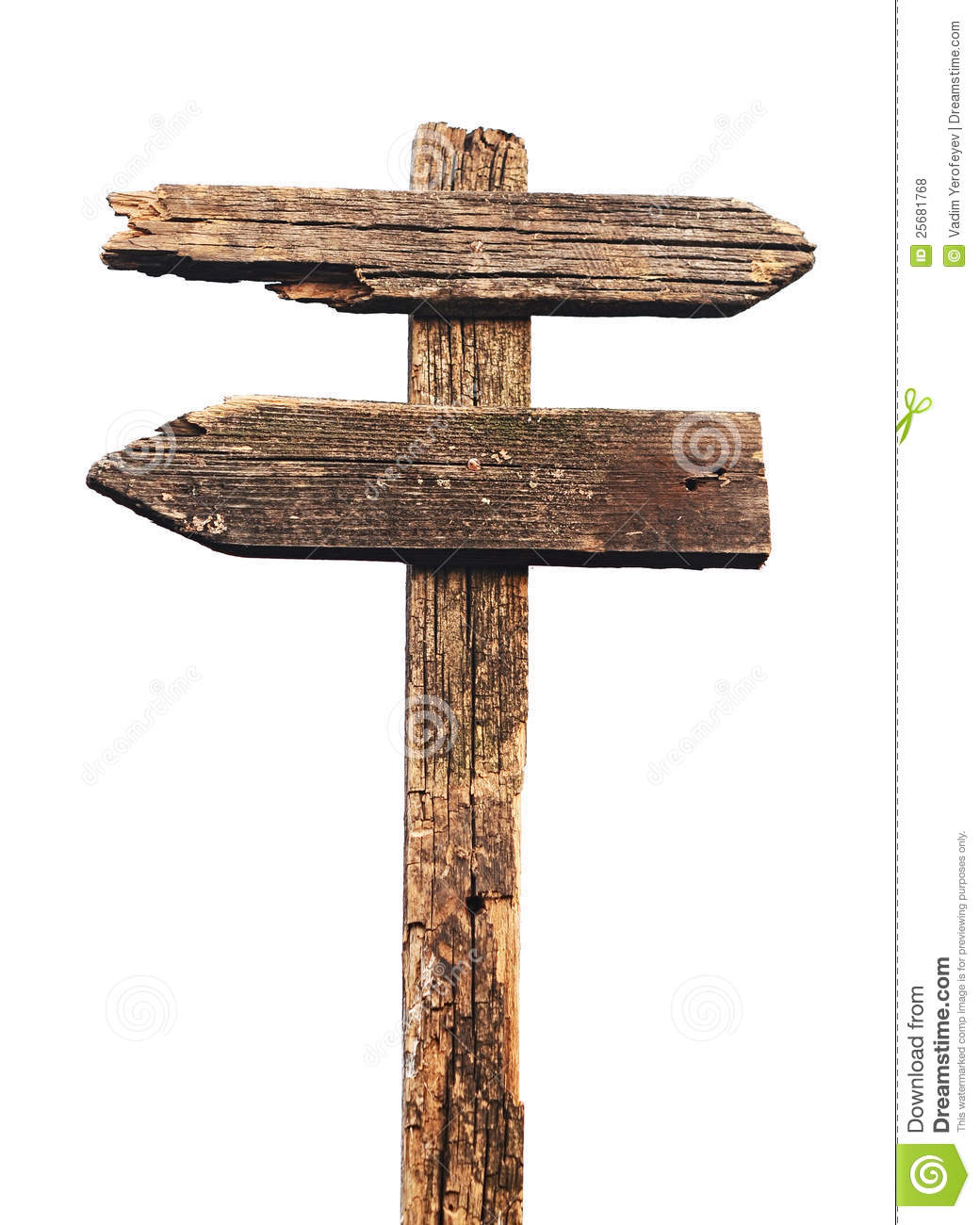 Old Wooden Arrows Road Sign Royalty Free Stock Photos - Image ...