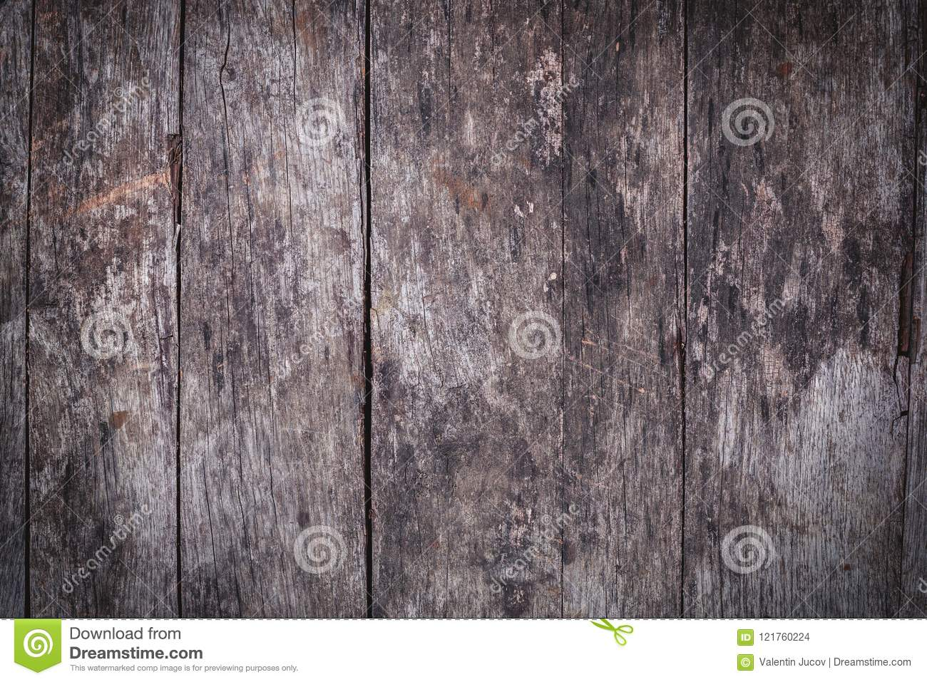 Old wooden background or texture. Wood table or floor.
