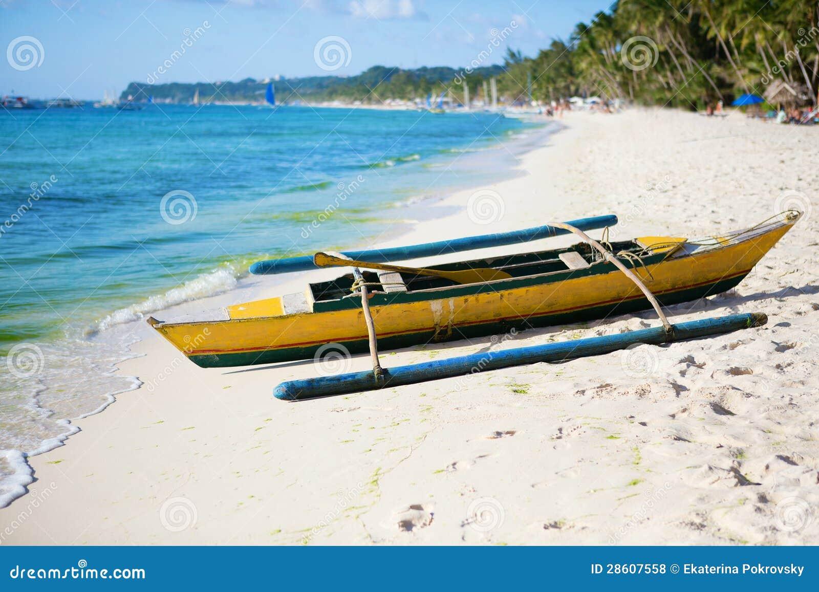 Old Wooden Bangka Boat Royalty Free Stock Photos - Image: 28607558