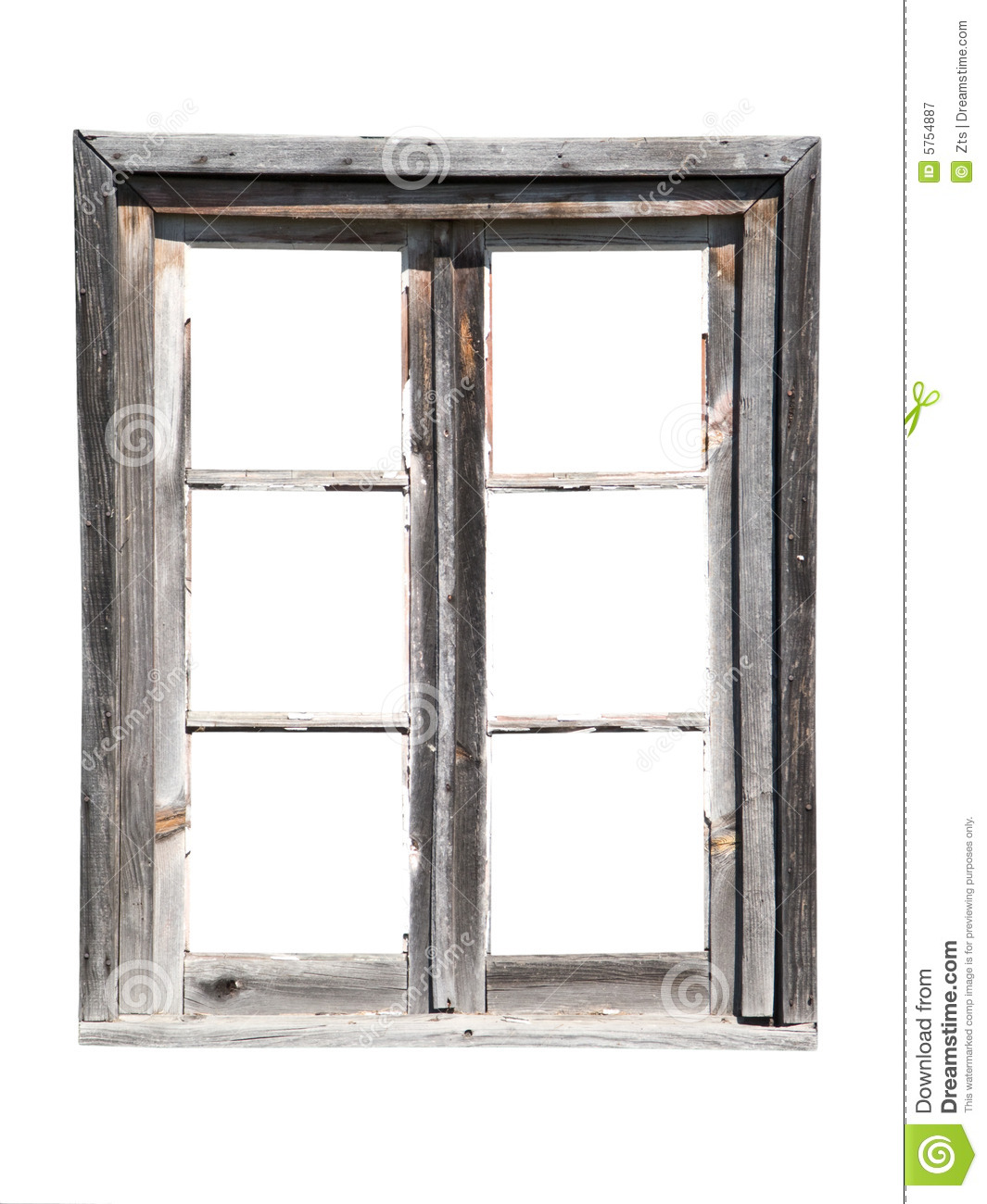 Old Wooden Barn Window Royalty Free Stock Photography - Image: 5754887