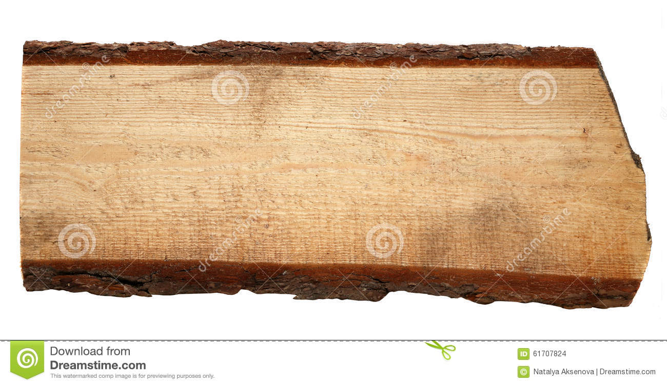 Old wooden boards isolated on white background stock