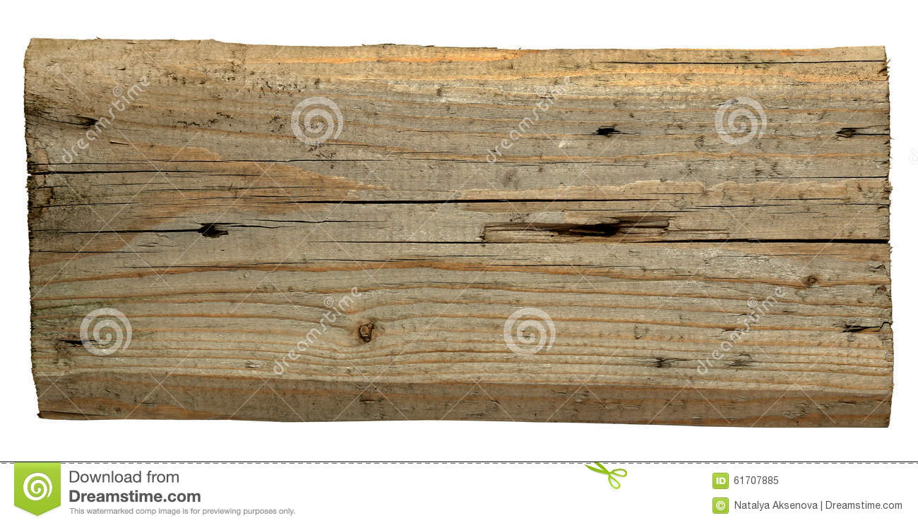 Old Wood Board ~ Old wooden boards isolated on white background stock
