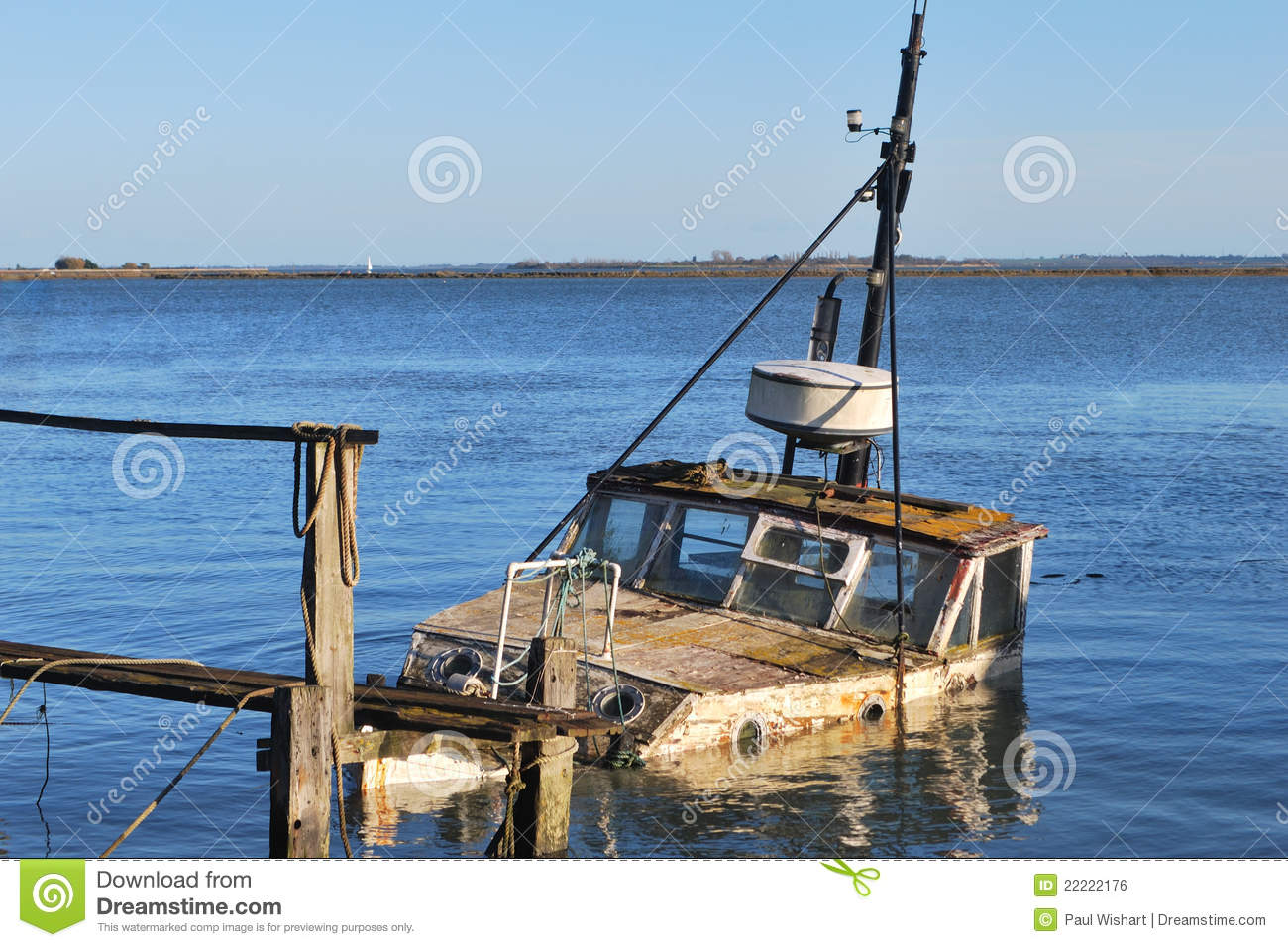 Old Wooden Boat Royalty Free Stock Image - Image: 22222176
