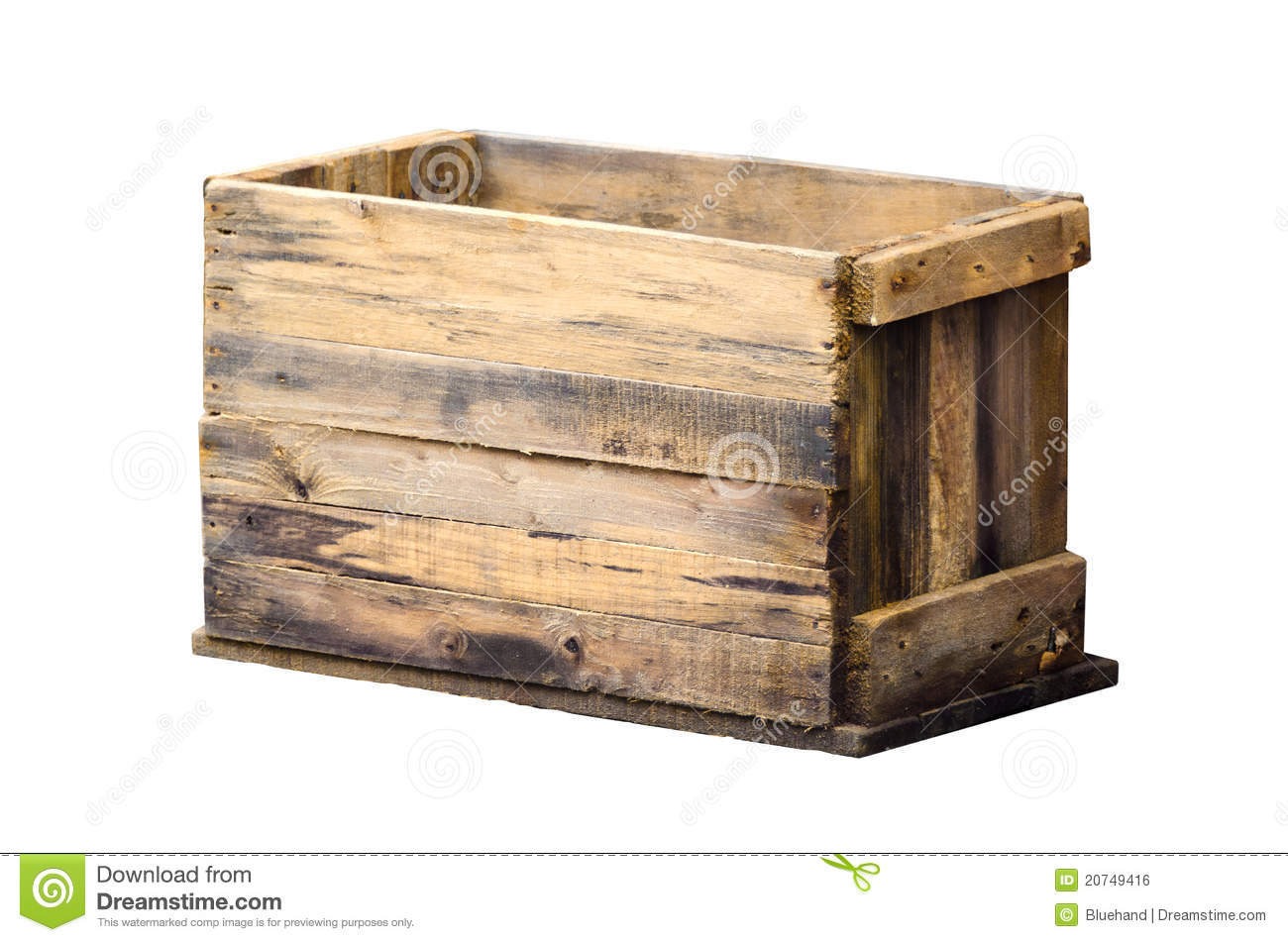 Old wooden box royalty free stock image image 20749416 for What to do with old mailbox