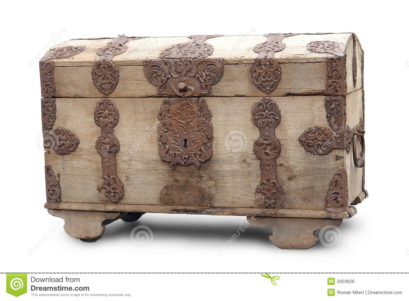 Old wooden box stock photo image of heavy luggage aged for What to do with old mailbox