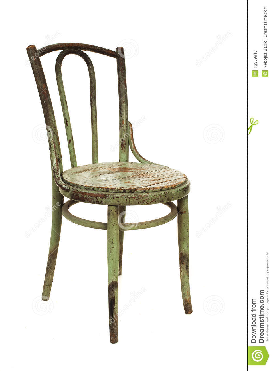 Old wooden chair royalty free stock image image 13359916