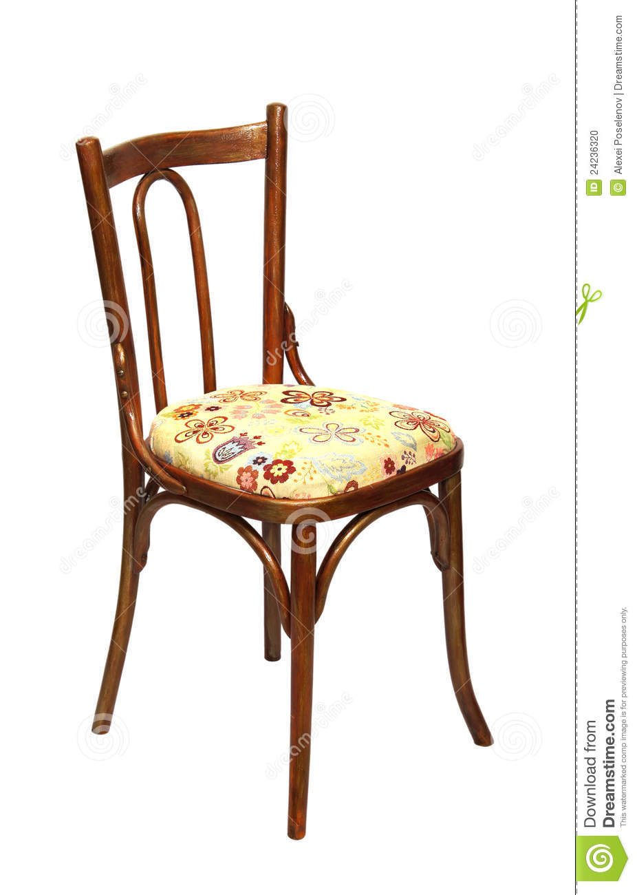 Old wooden chair stock photo image 24236320