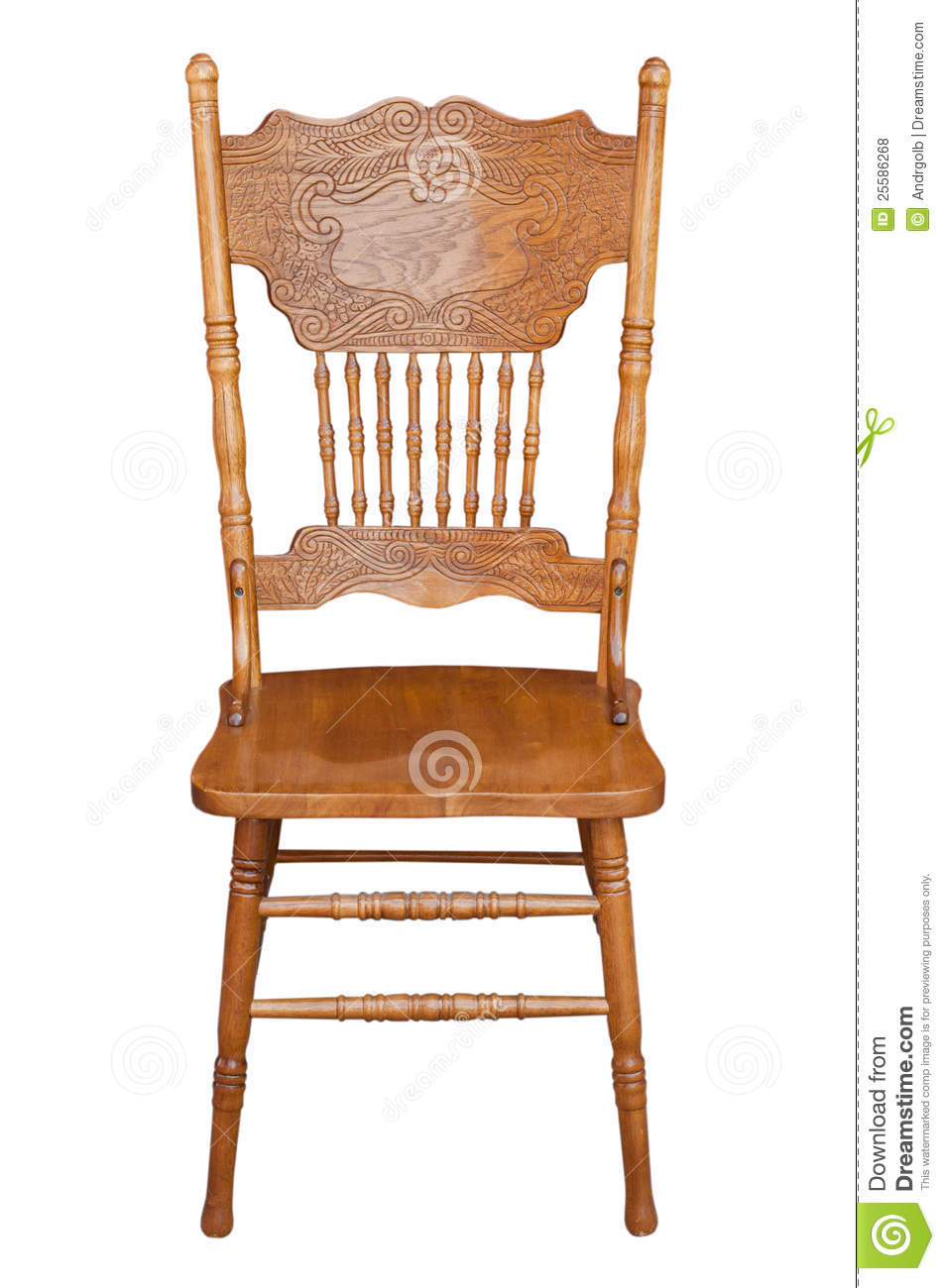 Old Wooden Chair Stock Photo Image Of Hardwood Education