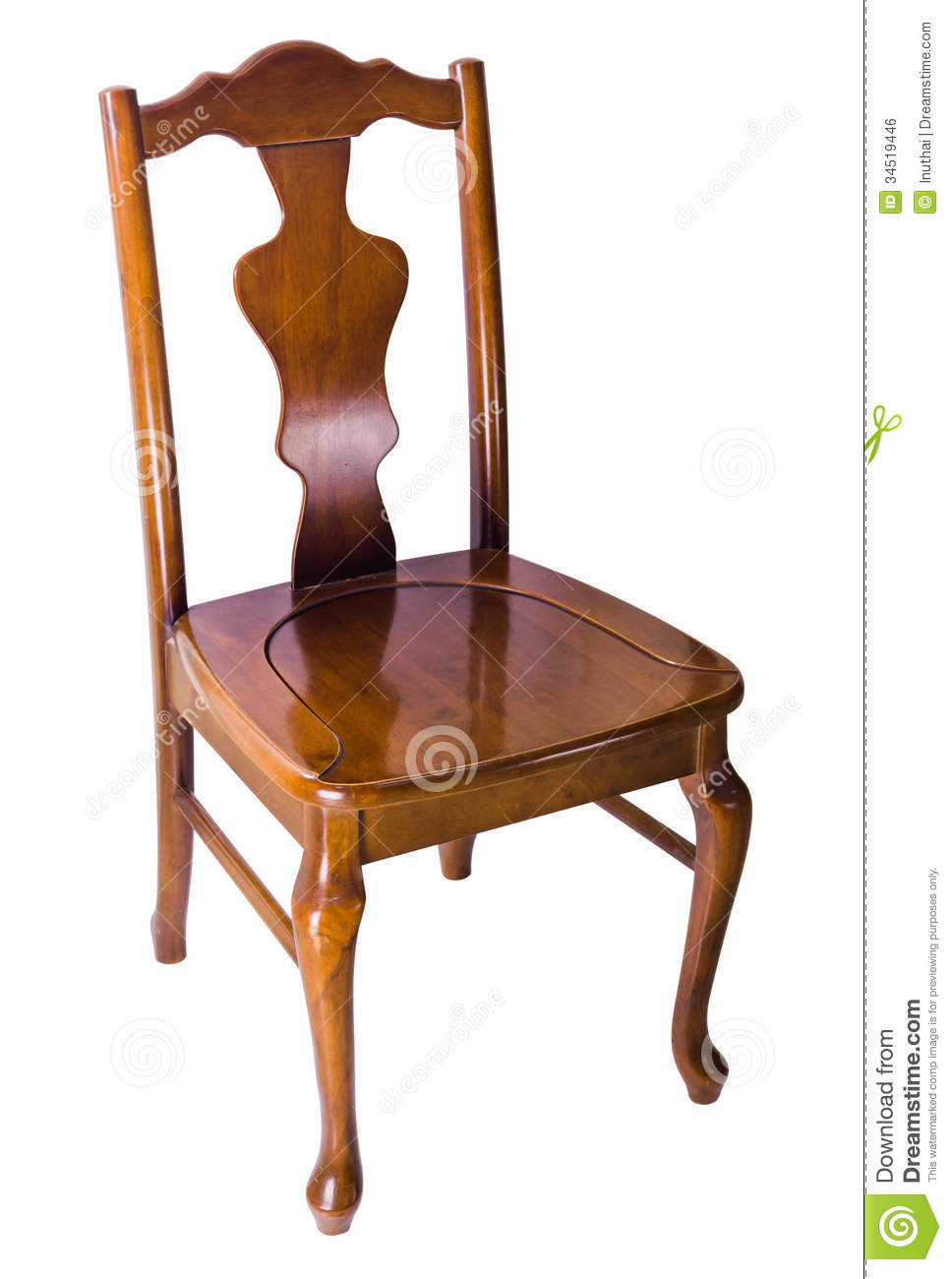 Old wooden chair, vintage style - Old Wooden Chair, Vintage Style Stock Photo - Image Of Brown, Craft