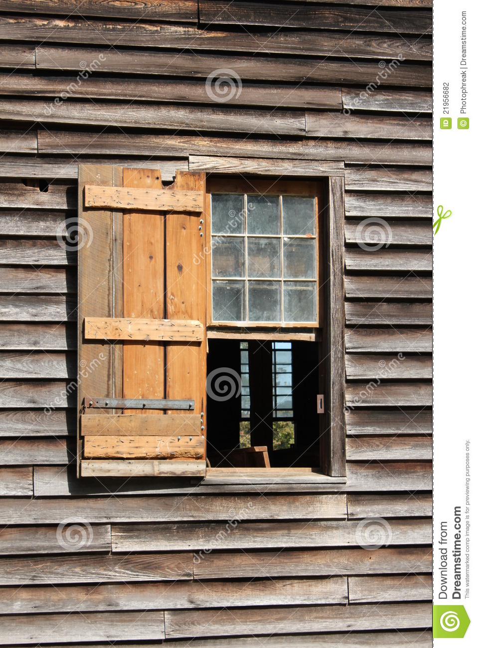 Old Wooden Church Window Stock Photography Image 21956682